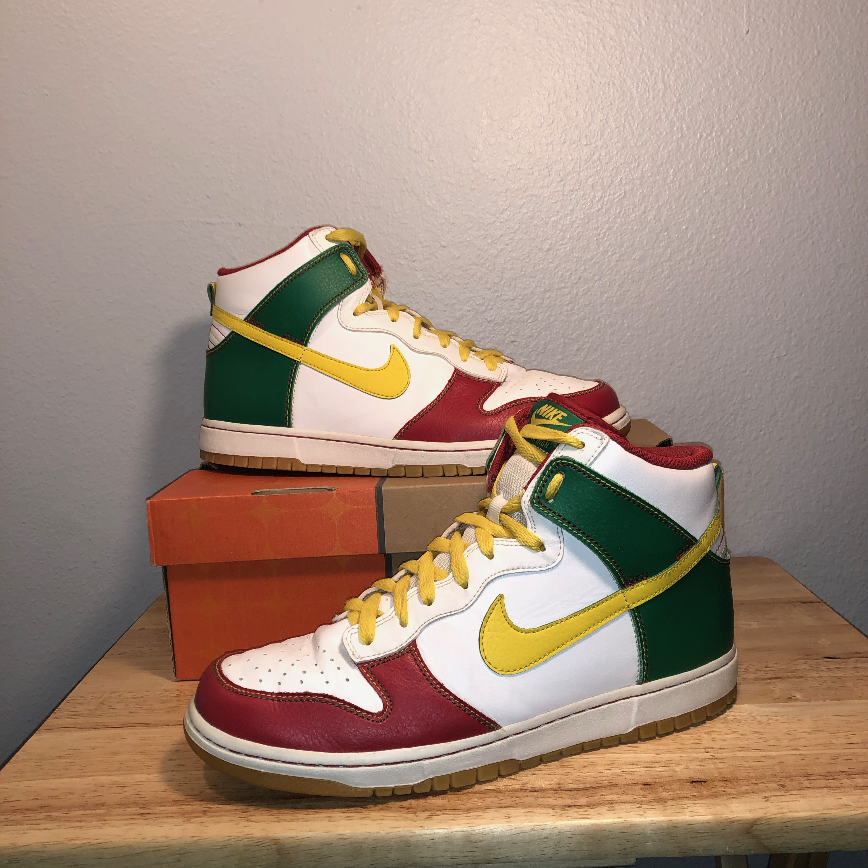 nike dunk high colorate