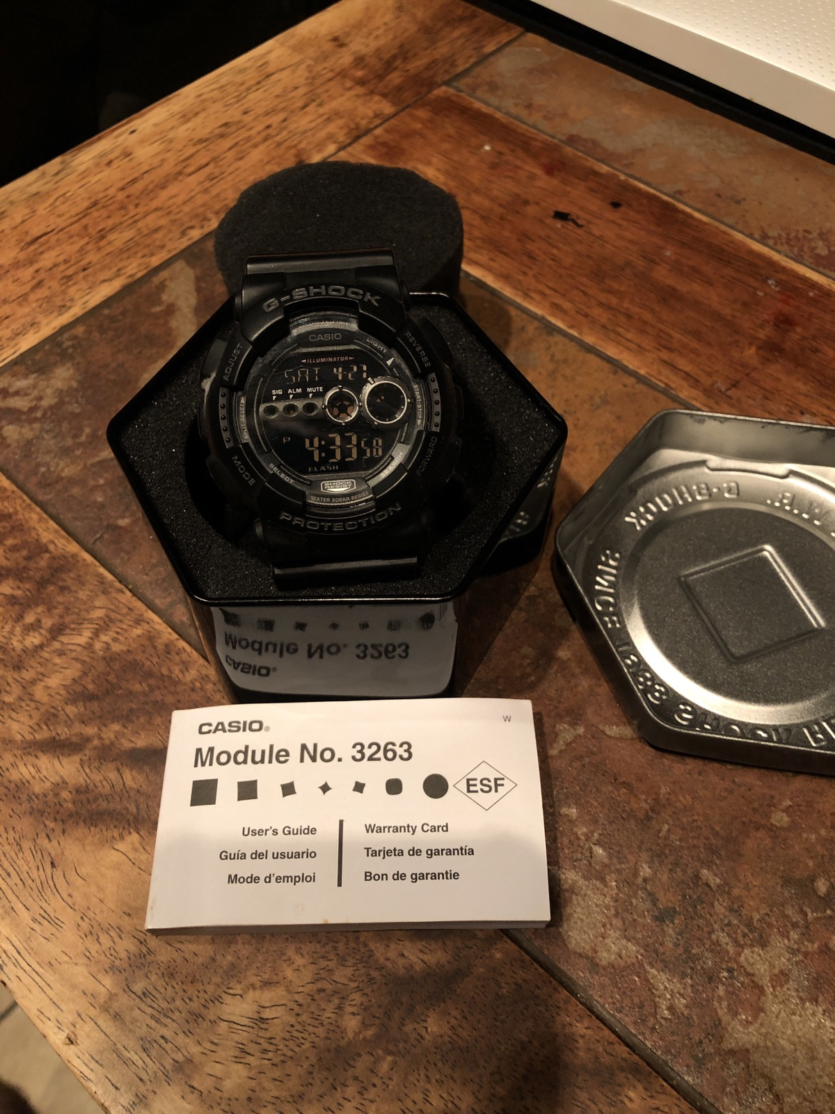 huge selection of ed40d 349ed Casio G-Shock GD-100 Module No. 3263