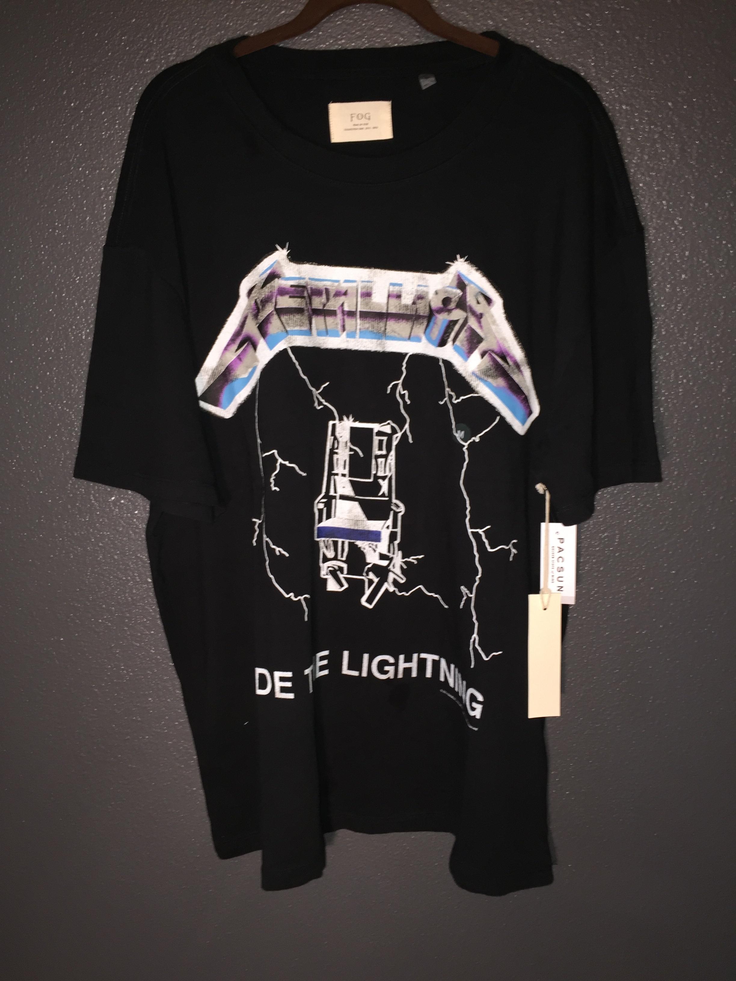 300c883f3bb5 Fear Of God Metallica T-shirt | Grailed