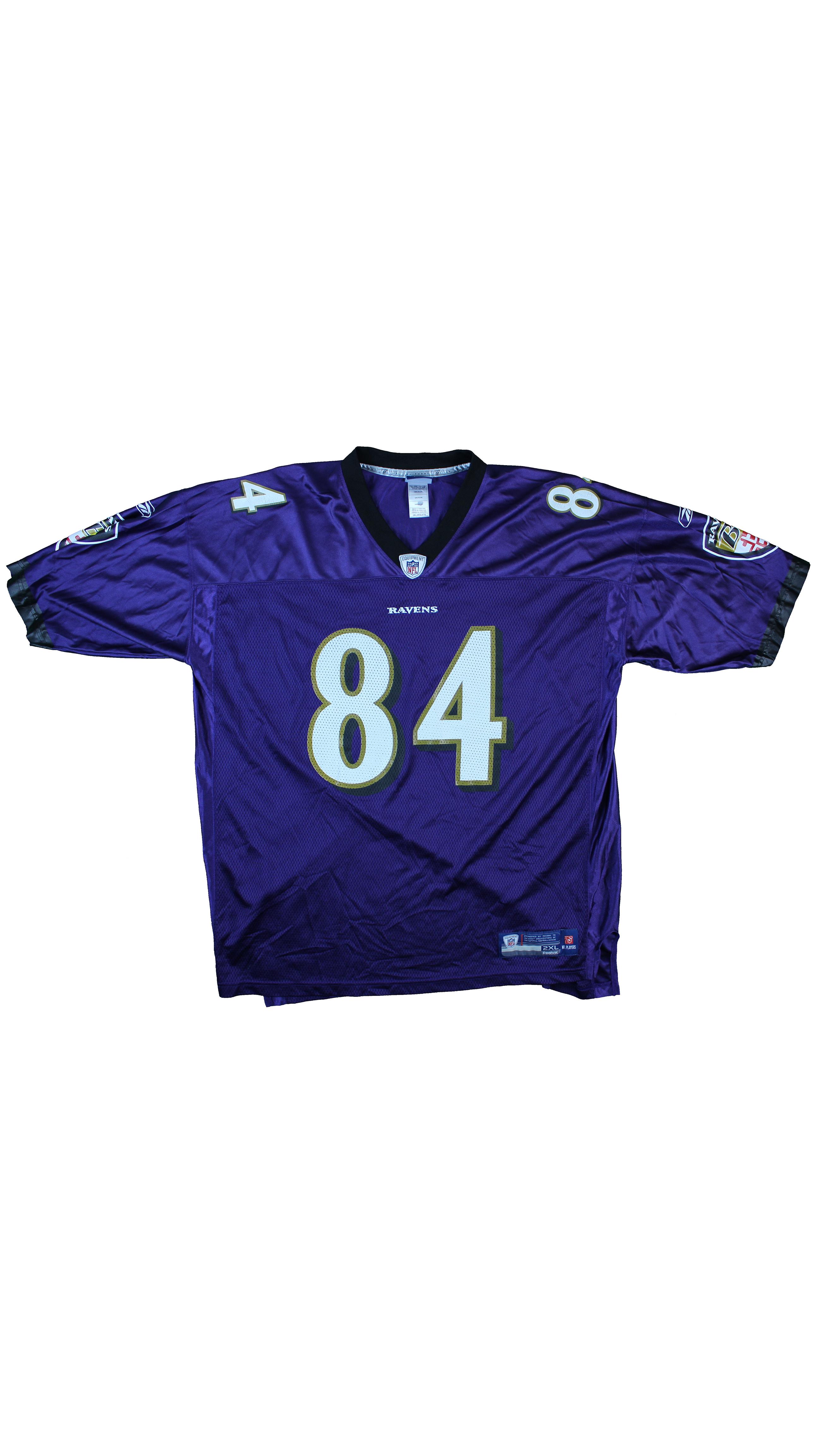 fef59728911 Vintage × Reebok × Nfl ×. Reebok x NFL Purple Oversized Ravens  Houshmandzadeh Football Jersey - XXL