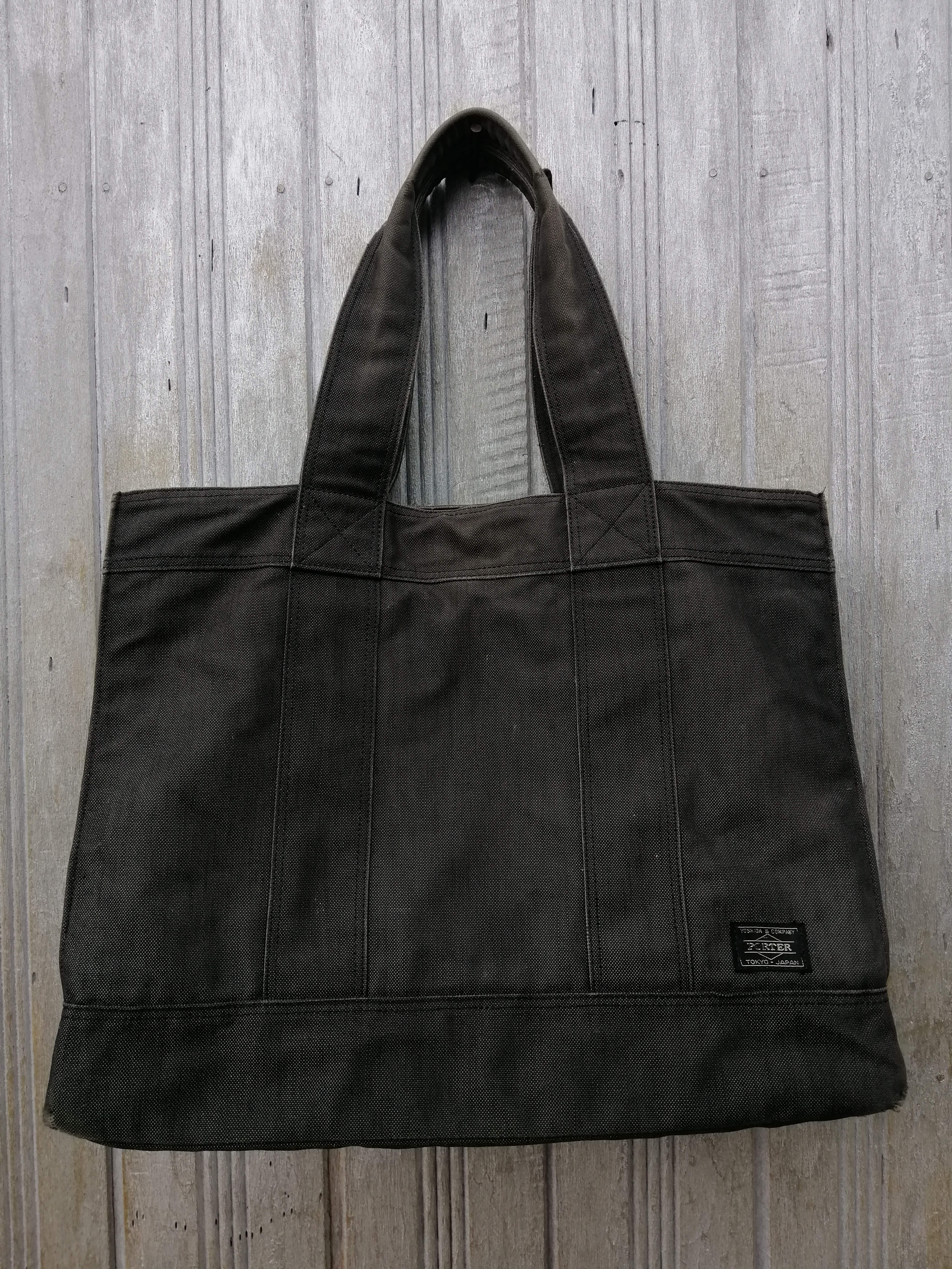 88f5ce35fbb Porter tote bag canvas made in japan