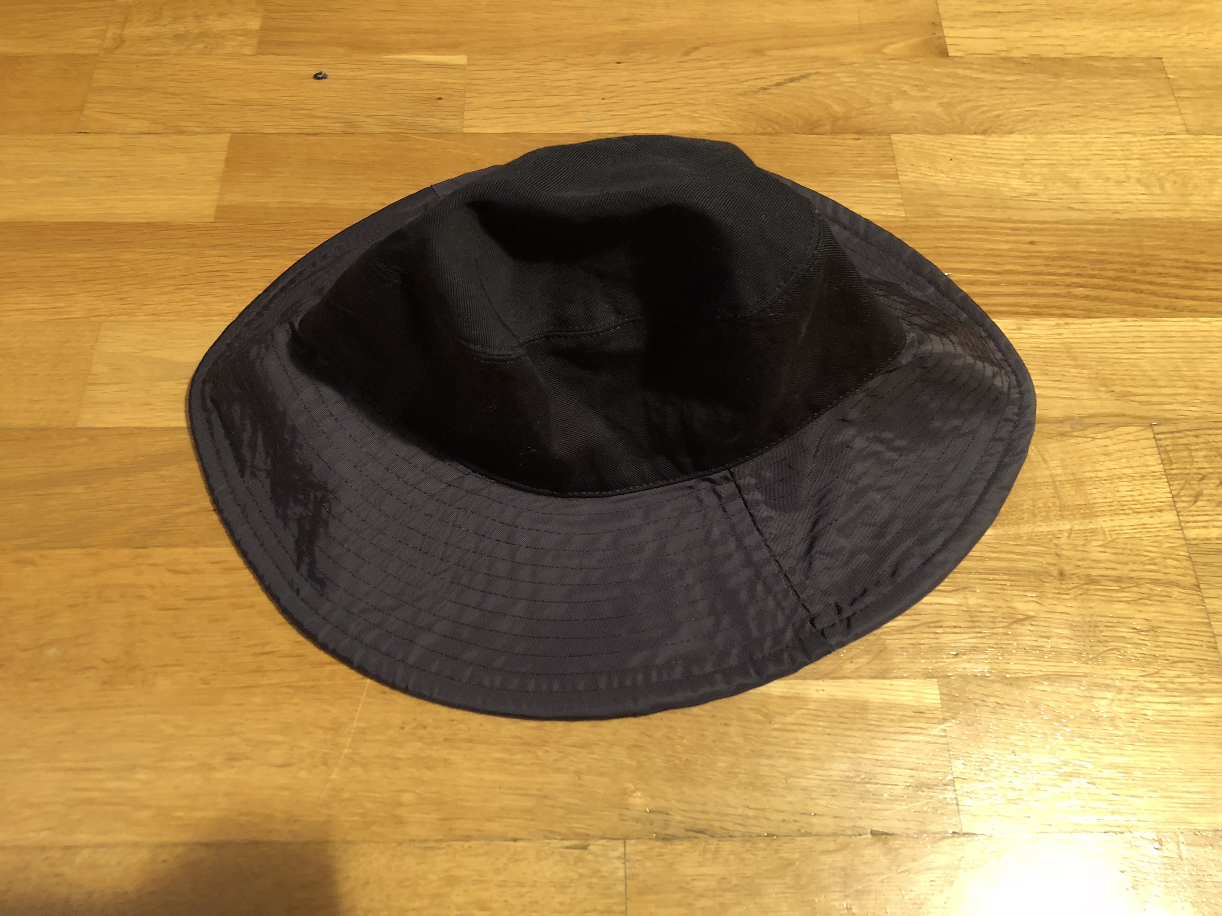 80becb11c1f Acne Studios Black Bucket Hat SS17 Nylon Cotton Twill Size one size ...