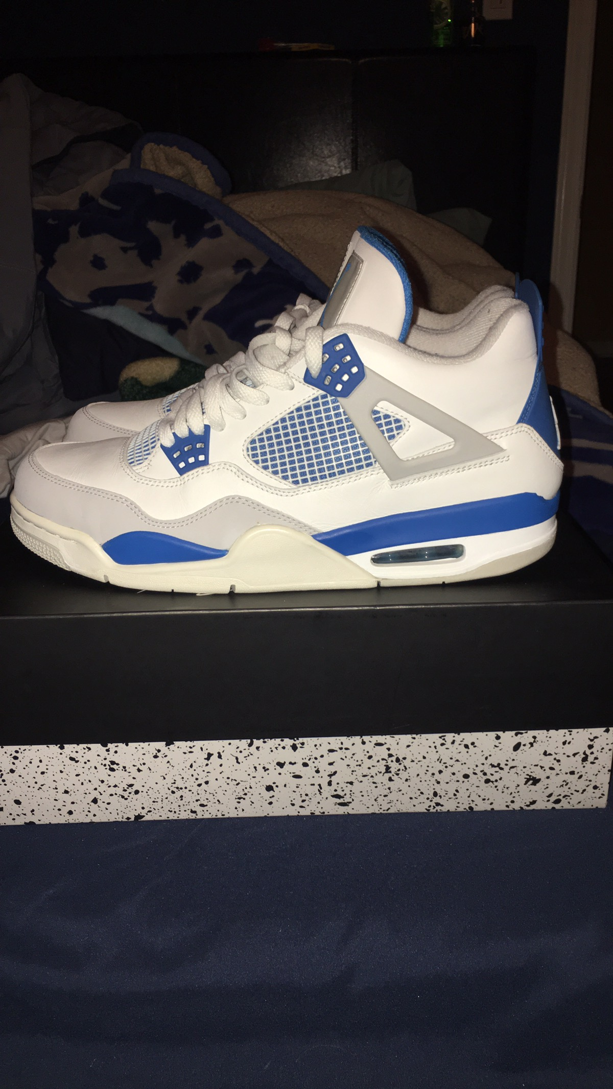more photos fc088 5d460 Military Blue 4s