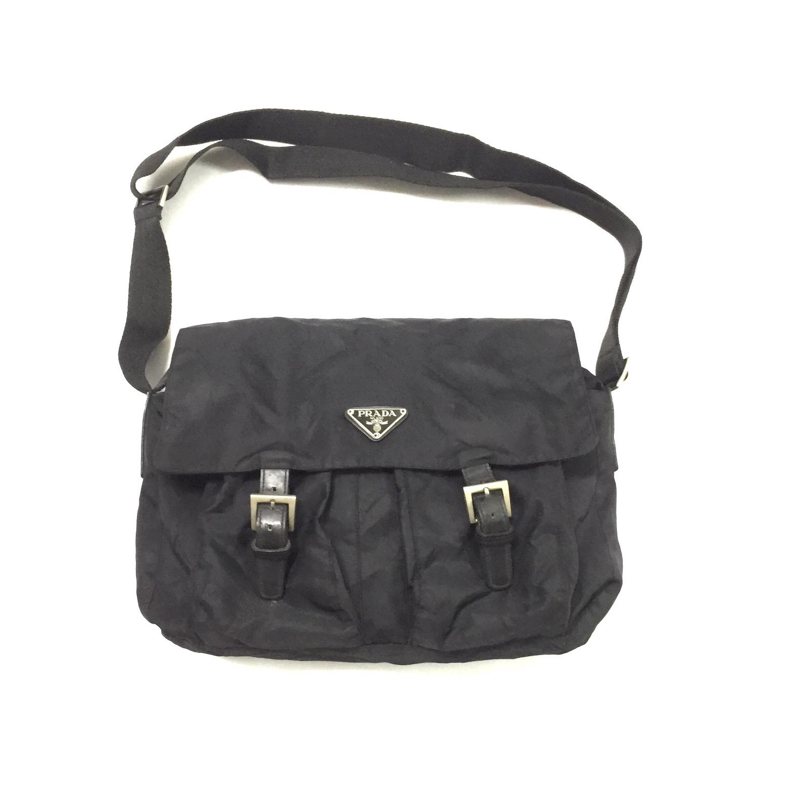 83883d15cfa5 ... inexpensive vintage prada. prada nylon sling bag acdc3 dd73c