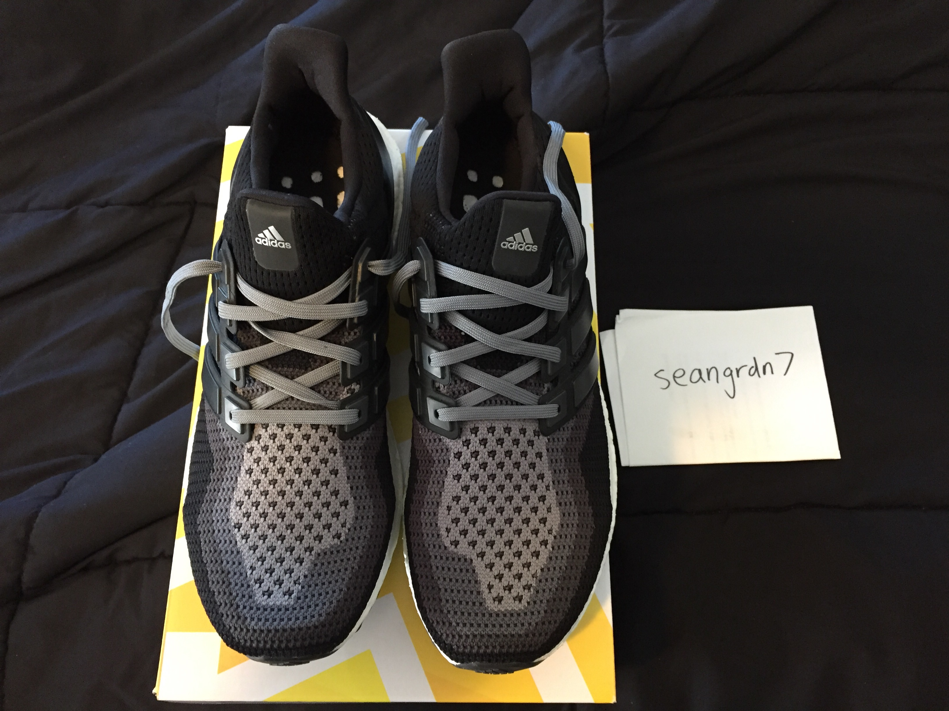 42f7c91a1 Adidas Adidas Ultra Boost M 2.0 Black Grey Gradient Size 11 Size 11 -  Low-Top Sneakers for Sale - Grailed