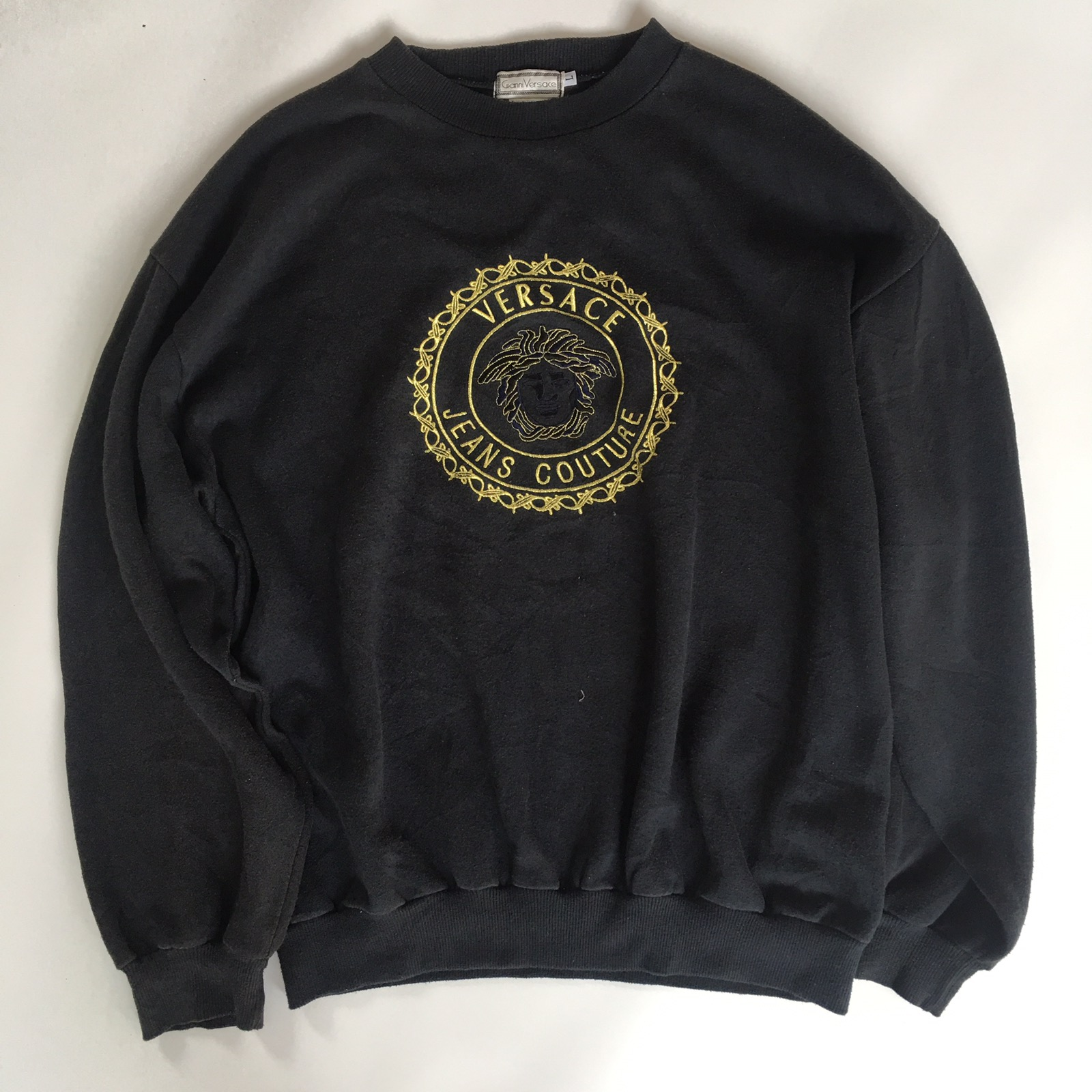 a680446040f Versace. Vintage Gianni Versace Sweatshirt Medusa Gold Head made in italy  not gucci supreme louis vuitton givenchy balmain saint laurent ...