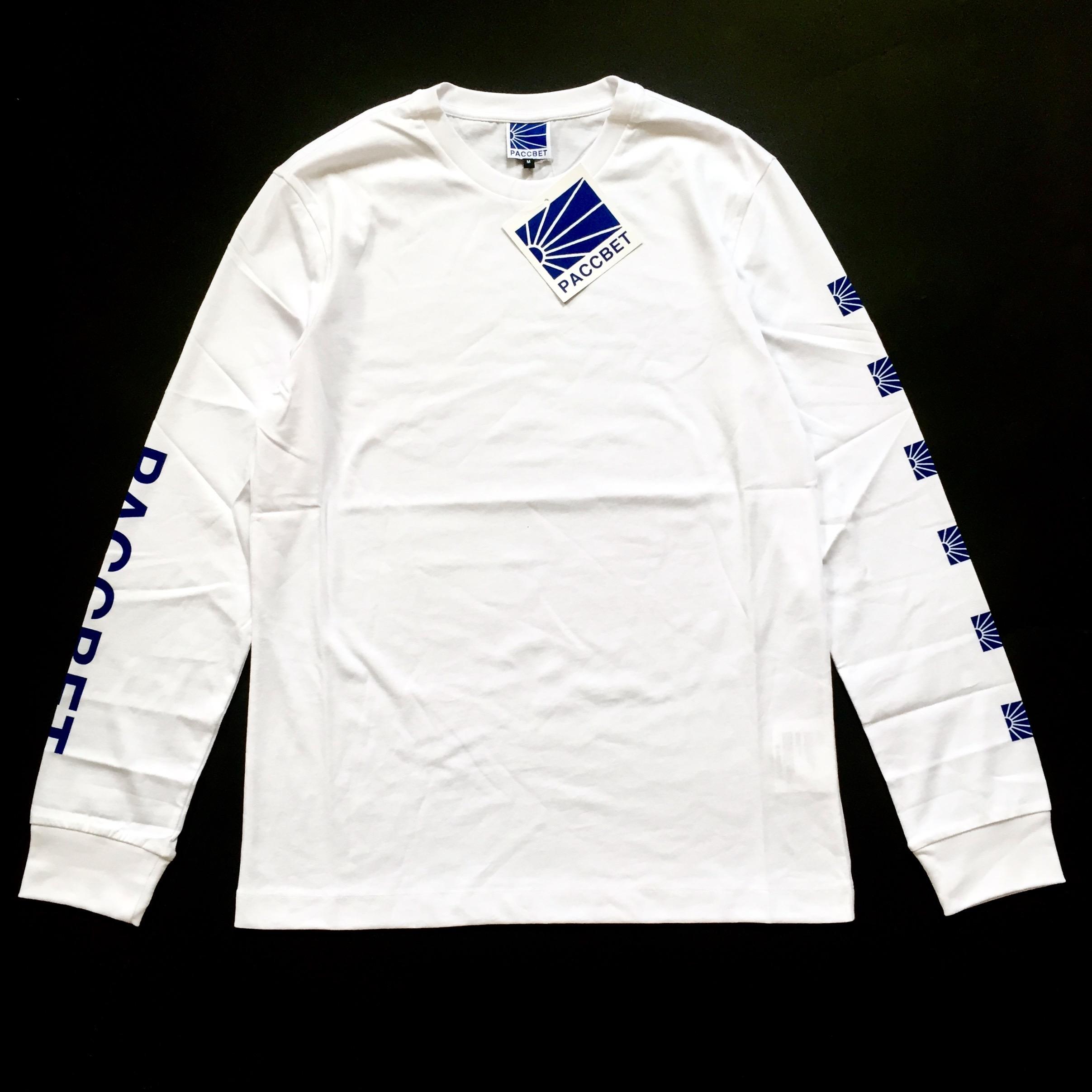 cfa025d96 Gosha Rubchinskiy White Paccbet Dawn Logo T-shirt Nwt | Grailed