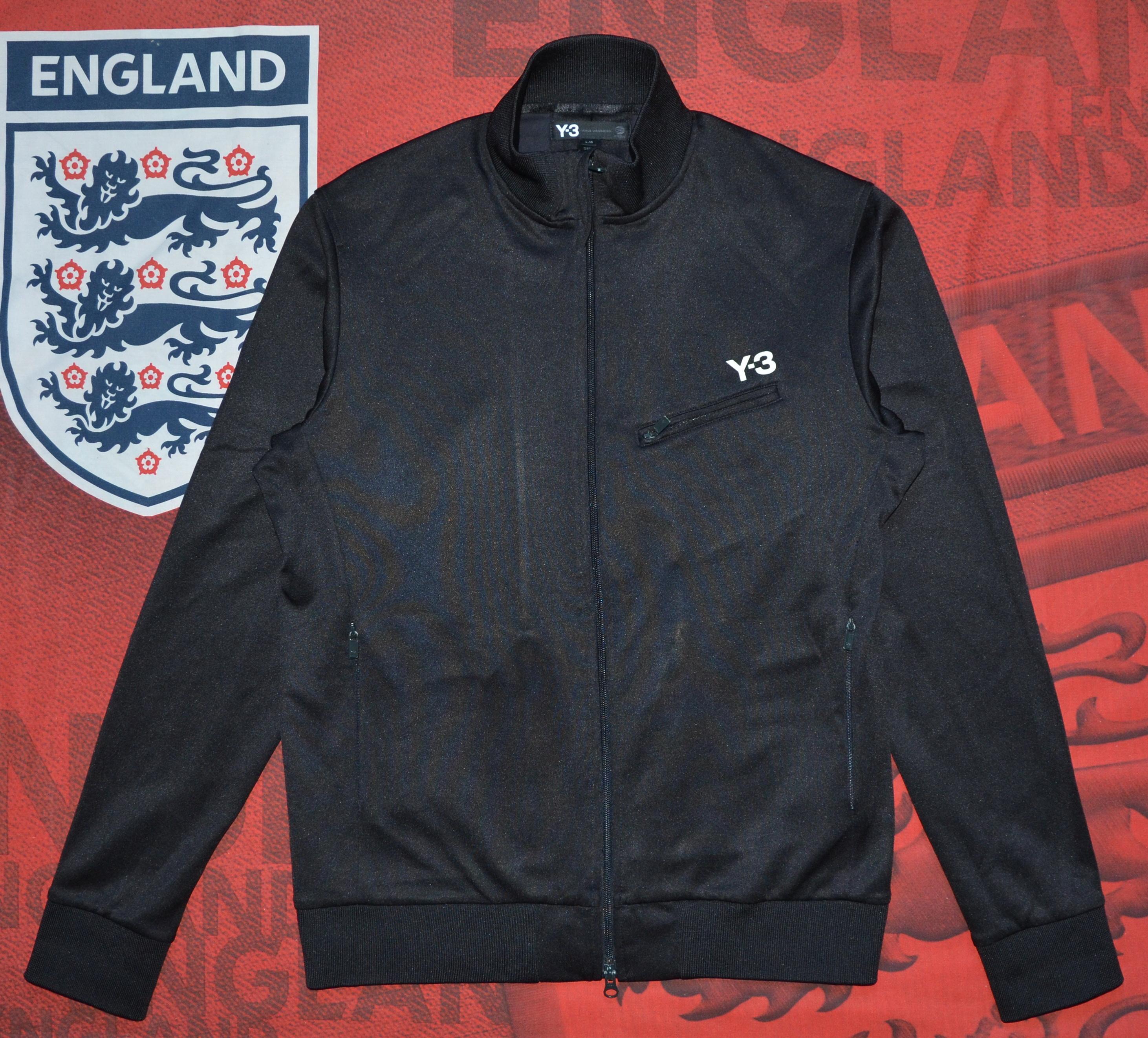 Adidas Y 3 Adidas Yohji Yamamoto Men Black Jacket Size L Grailed