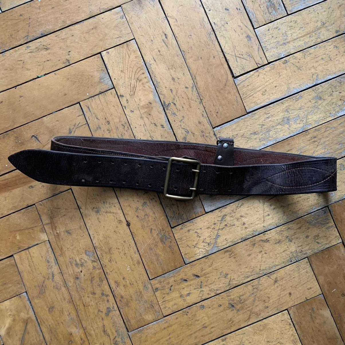 trainer-belt Soviet vintage sports belt. Rarity trainer of the USSR