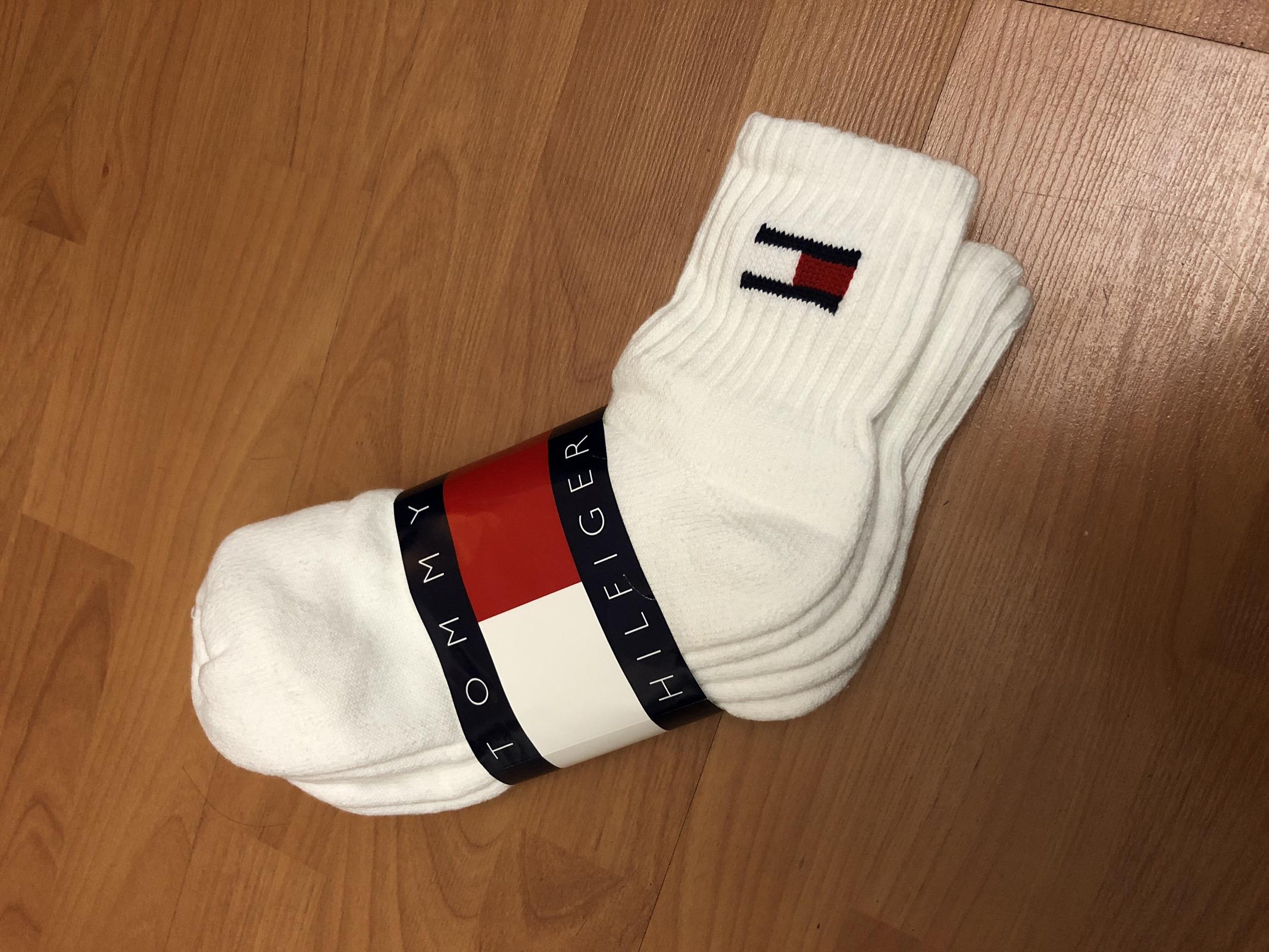 6ea21673e Vintage × Tommy Hilfiger ×. Vintage 90s Tommy Hilfiger Flag Crew Socks ...