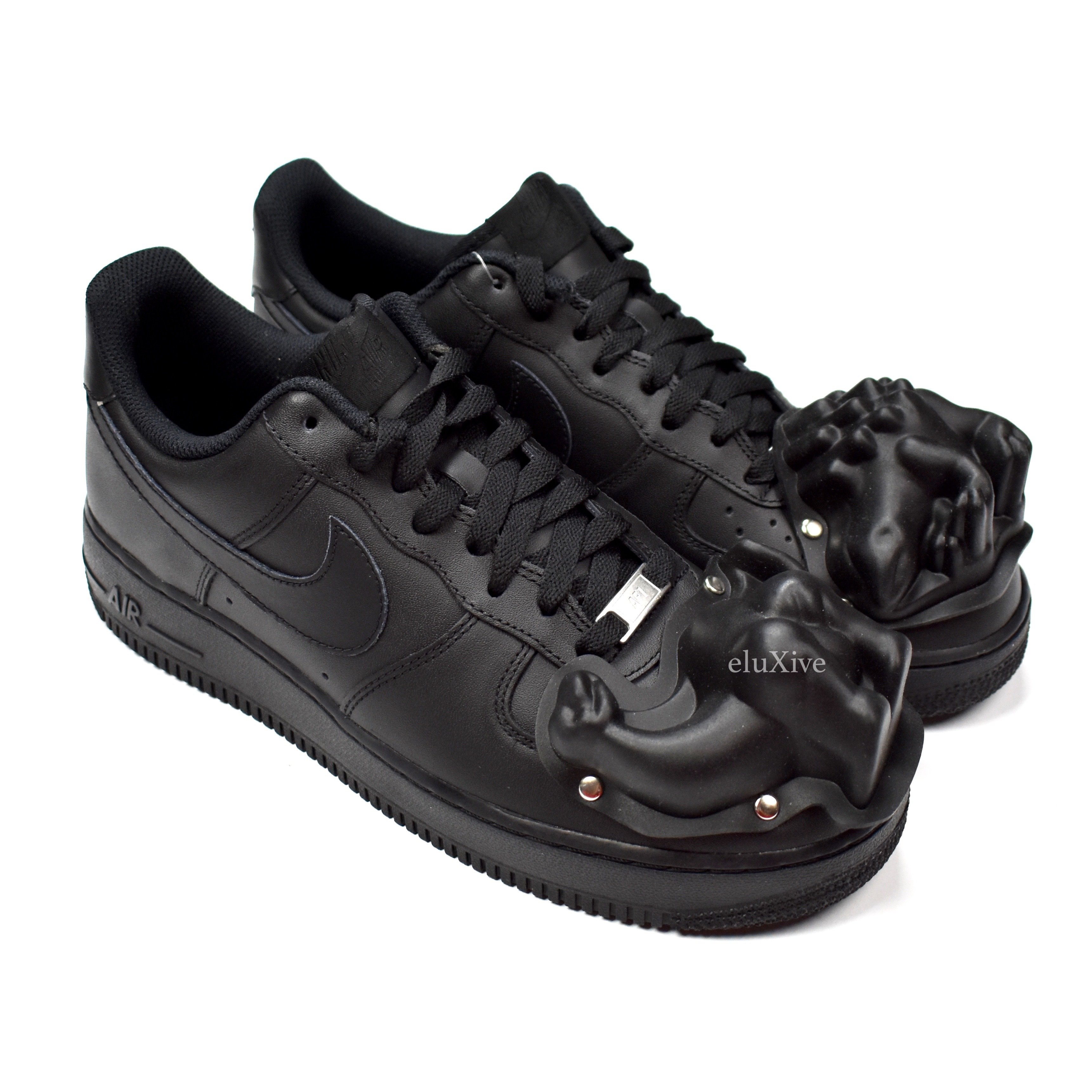 cdg homme plus nike air force 1