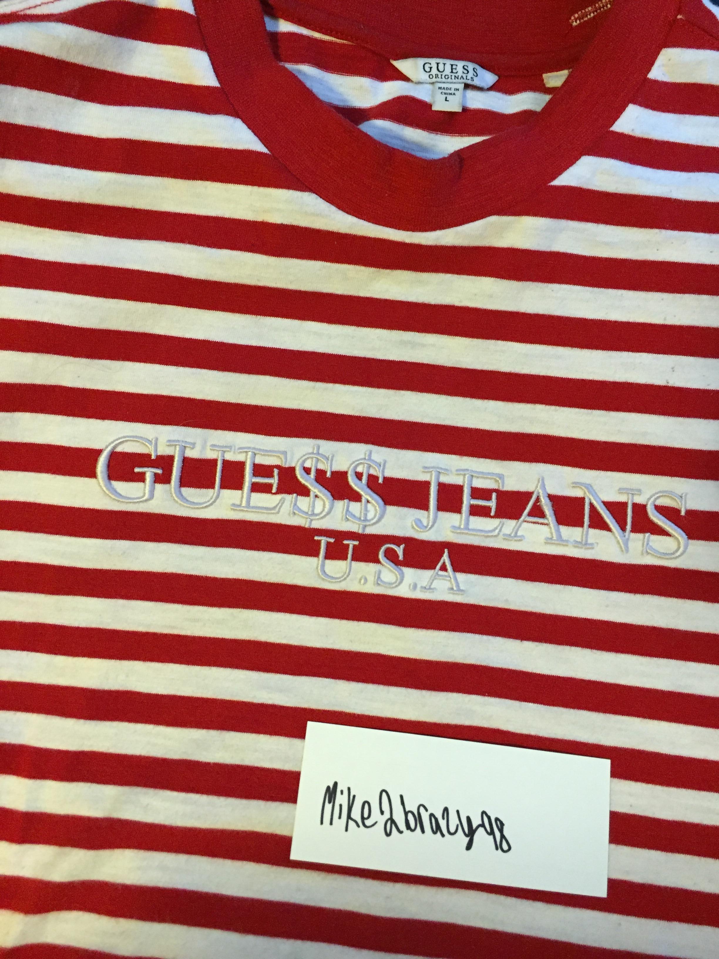 8b56731fb3c0 Guess Jeans Asap Rocky Striped Shirt - raveitsafe