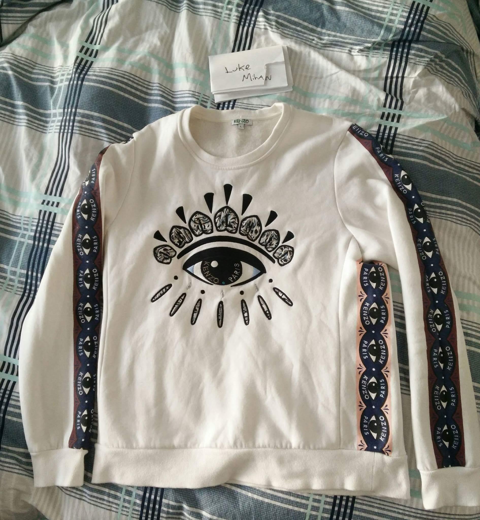 Kenzo Sweatshirt Kenzo Eye Big Paris xsQCdtrh