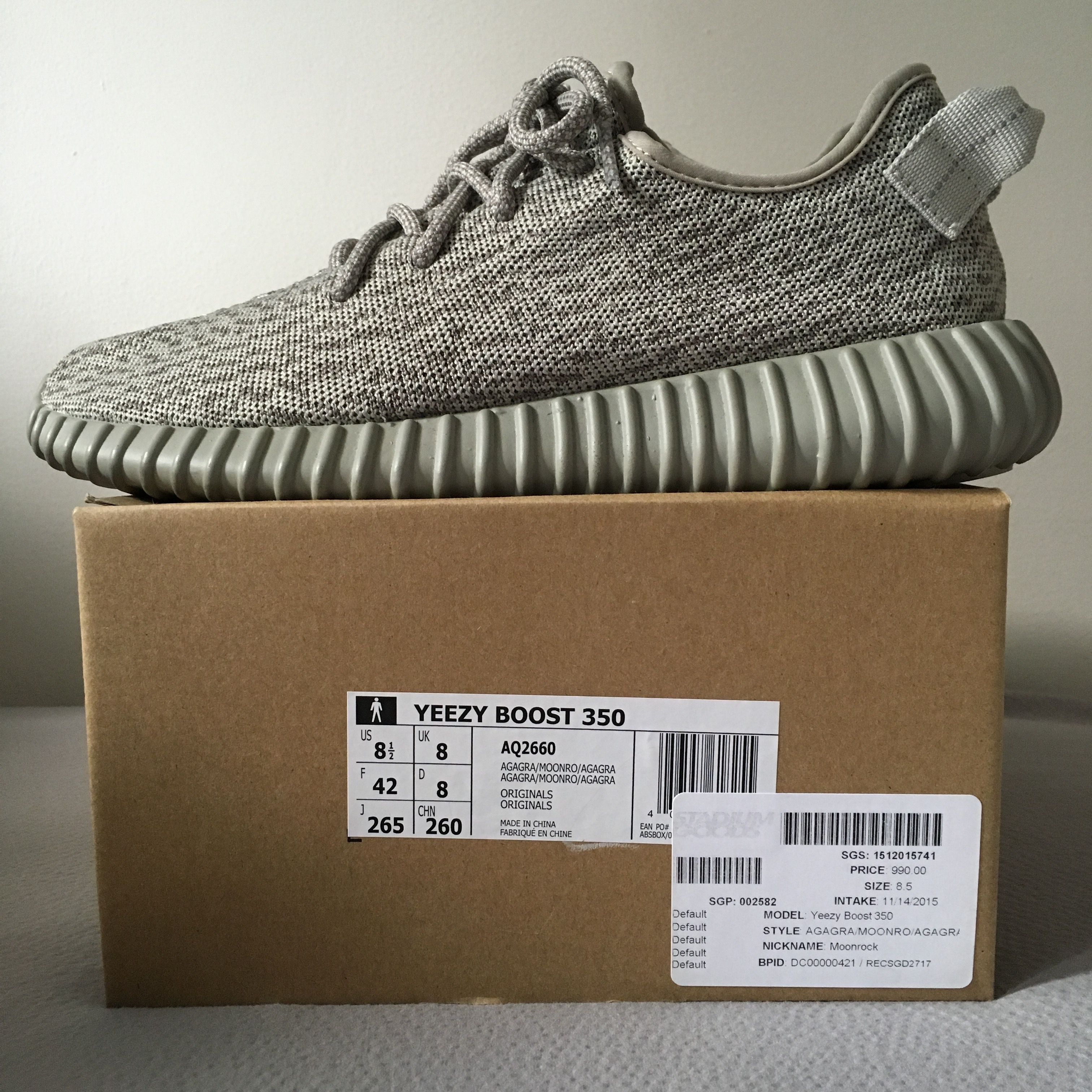 60c5f9f58a4a9 Adidas Kanye West Yeezy Boost 350 Moonrock Size 8.5 - for Sale - Grailed