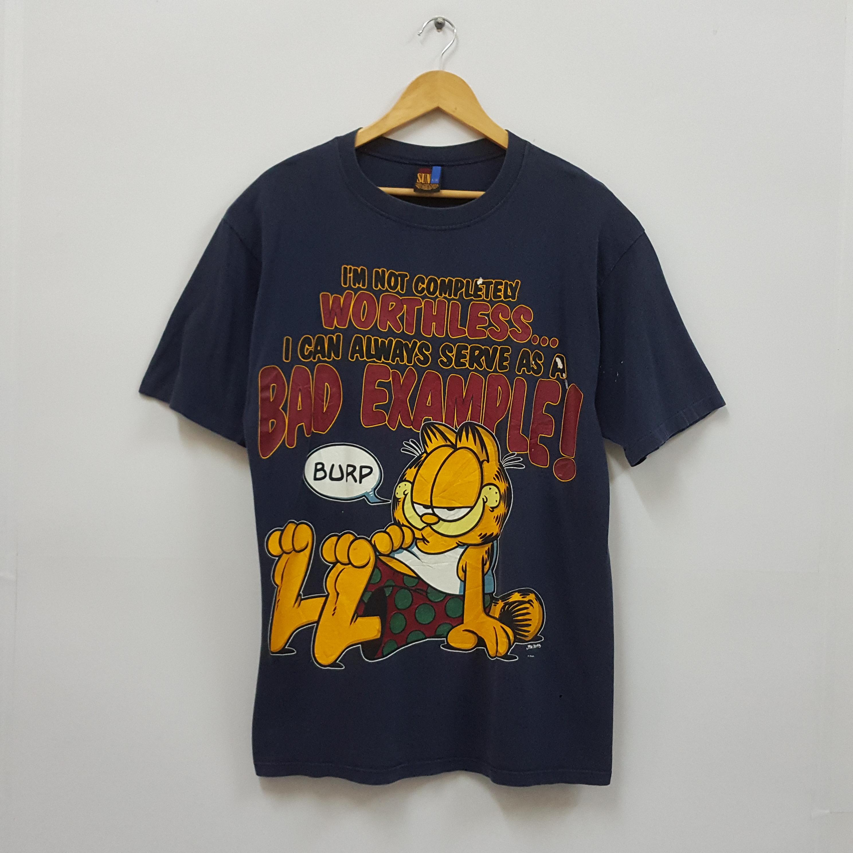 Vintage Vintage Garfield By Jim Davis Design T Shirt Grailed