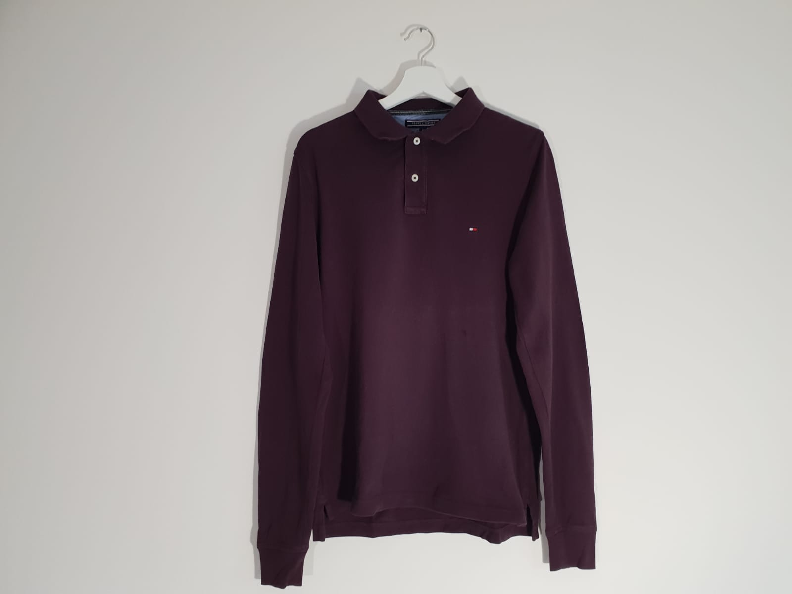 Tommy Hilfiger Tommy Hilfiger Rugby Style Long Sleeve Polo Shirt