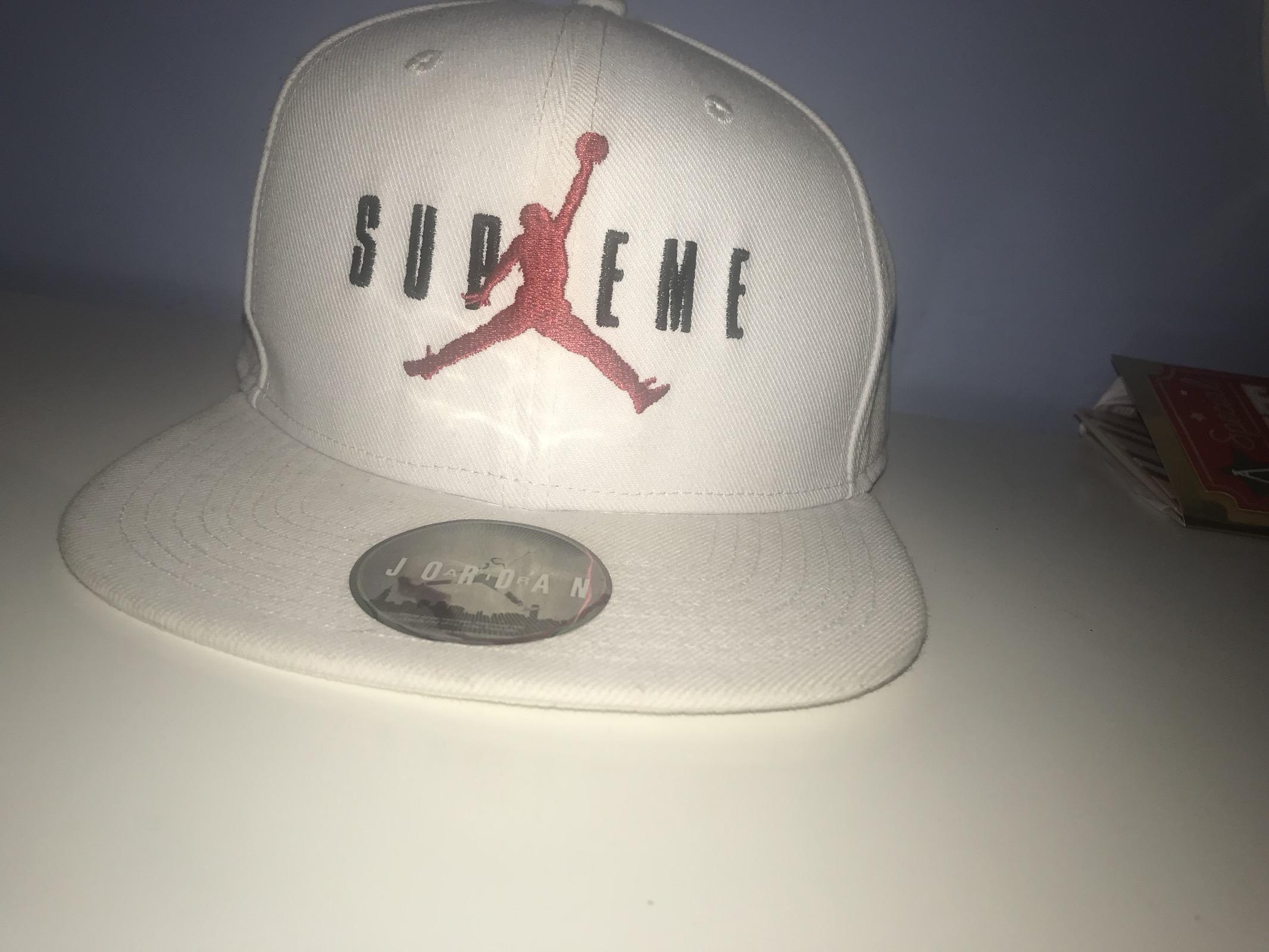 Supreme Supreme X Jordan Cap Size one size - Hats for Sale - Grailed c8c7fd4bd00