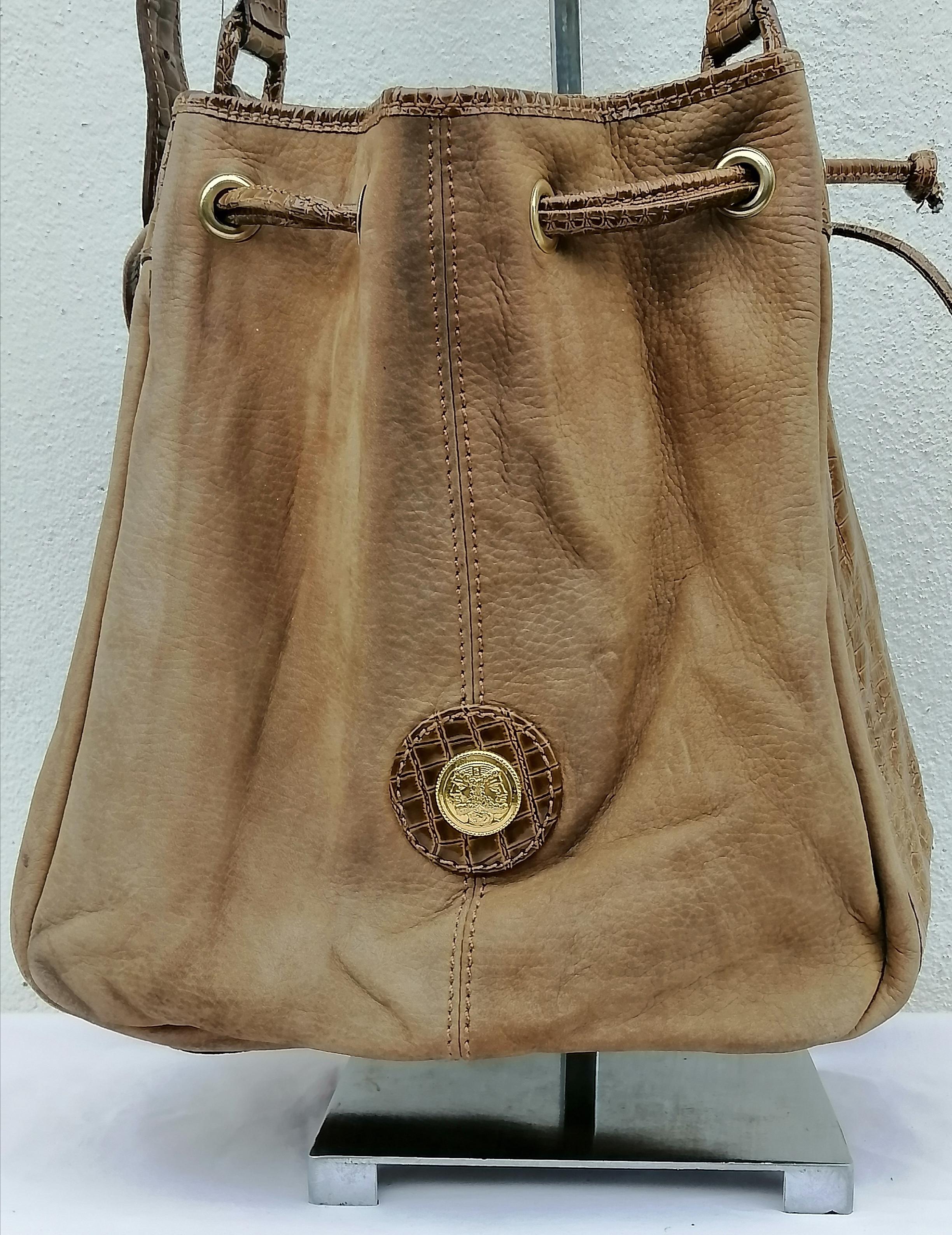 Vintage Vintage Fendi Roma Leather Shoulder Bag Grailed