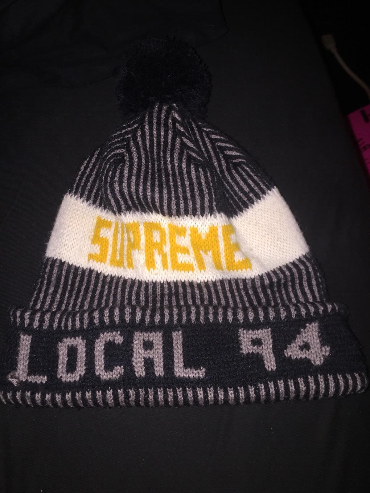 8f03904c Supreme F/w 12 Supreme Local 94 Beanie | Grailed