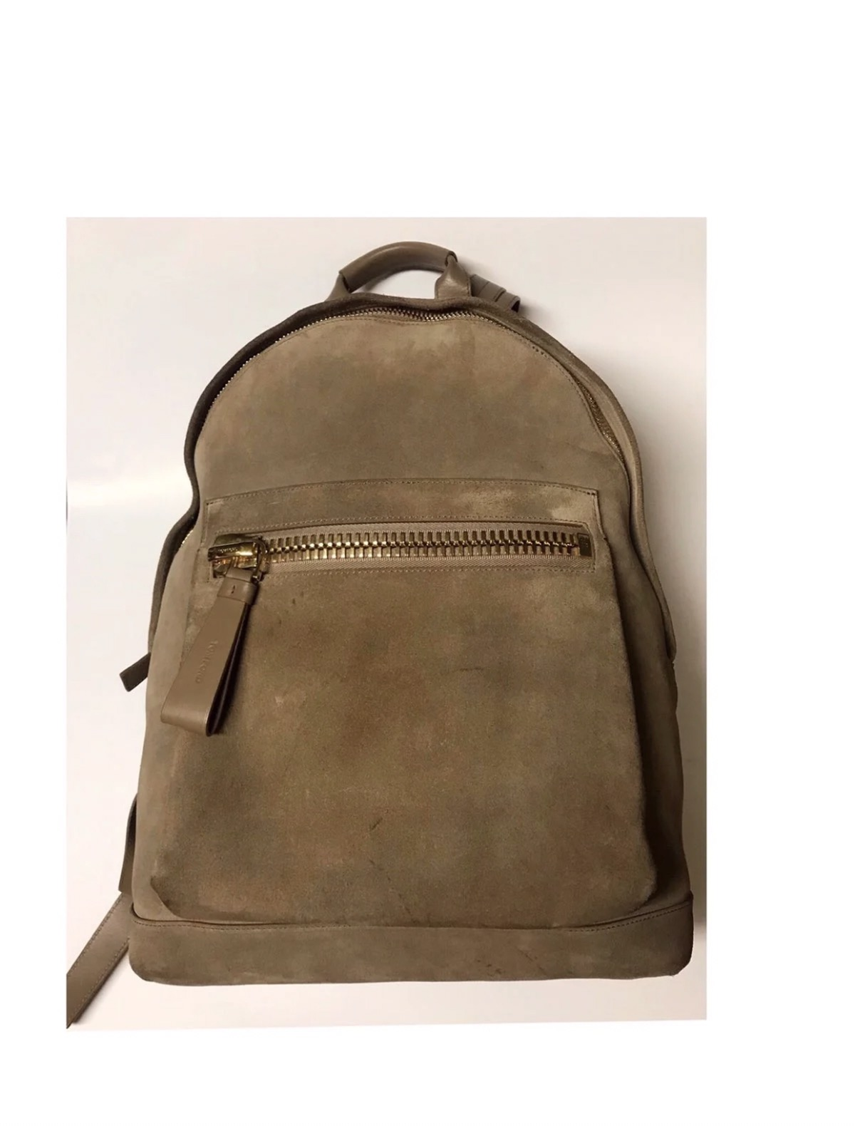 c0885c0a9552 Tom Ford Suede Buckley Backpack