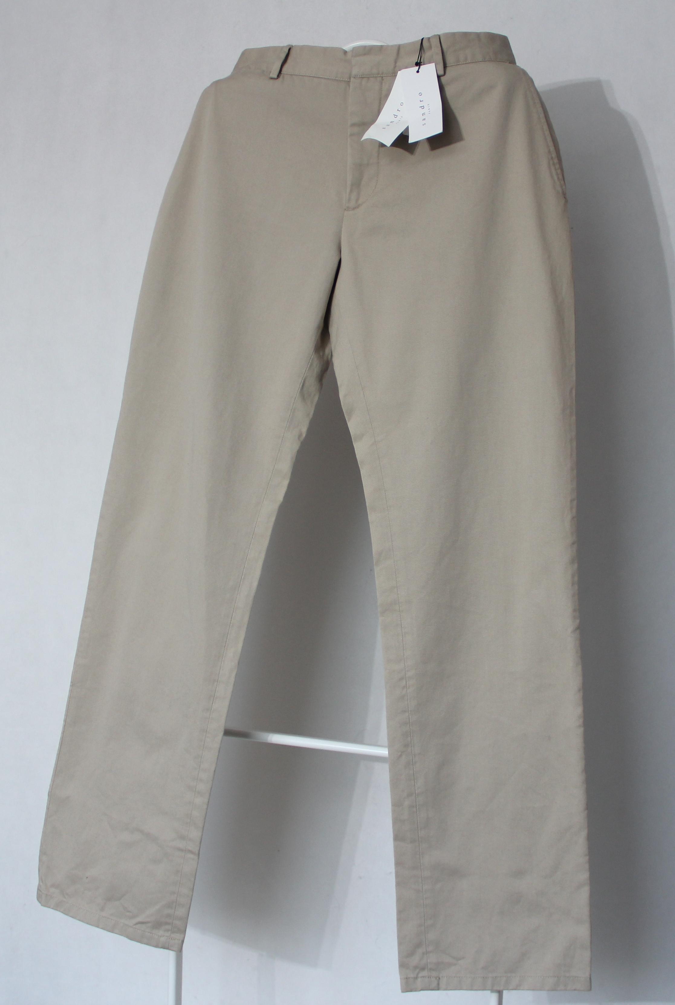 économiser jusqu'à 80% beauté caractéristiques exceptionnelles Men's Sandro Paris Biege Chino Pants Sz 42 New with tags