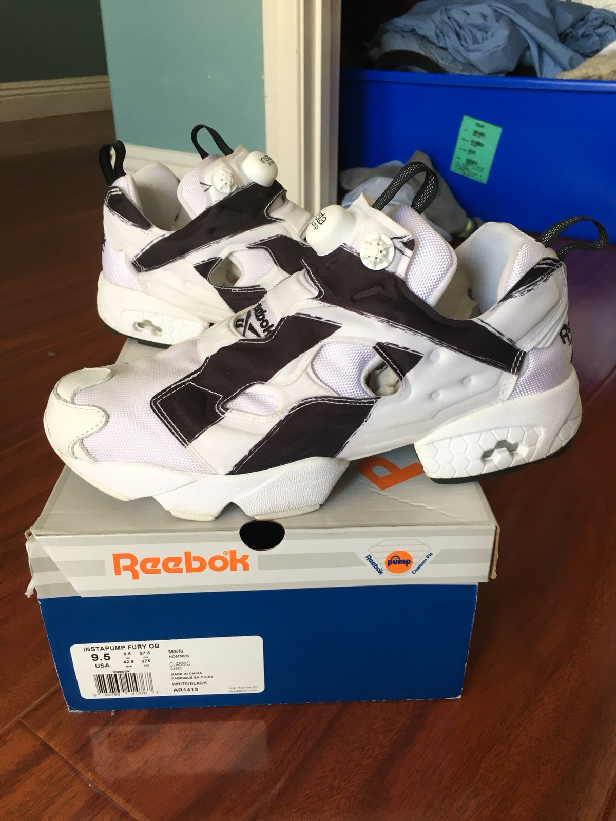 Reebok Future x Reebok Instapump Fury Overbranded Size 9.5 Black White Size  9.5 - Low-Top Sneakers for Sale - Grailed 9e074c8ea