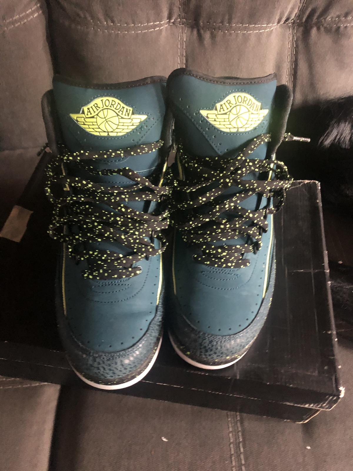 "Air Jordan 2 ""NightShade Green"""