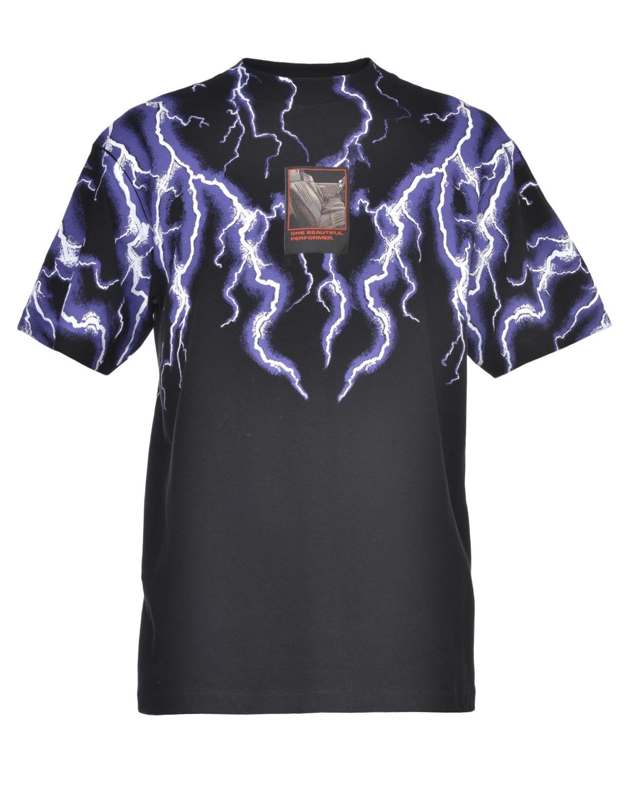 010d28bef Alexander Wang ×. Lightning Collage Short Sleeve Tee Top. Size: US M ...