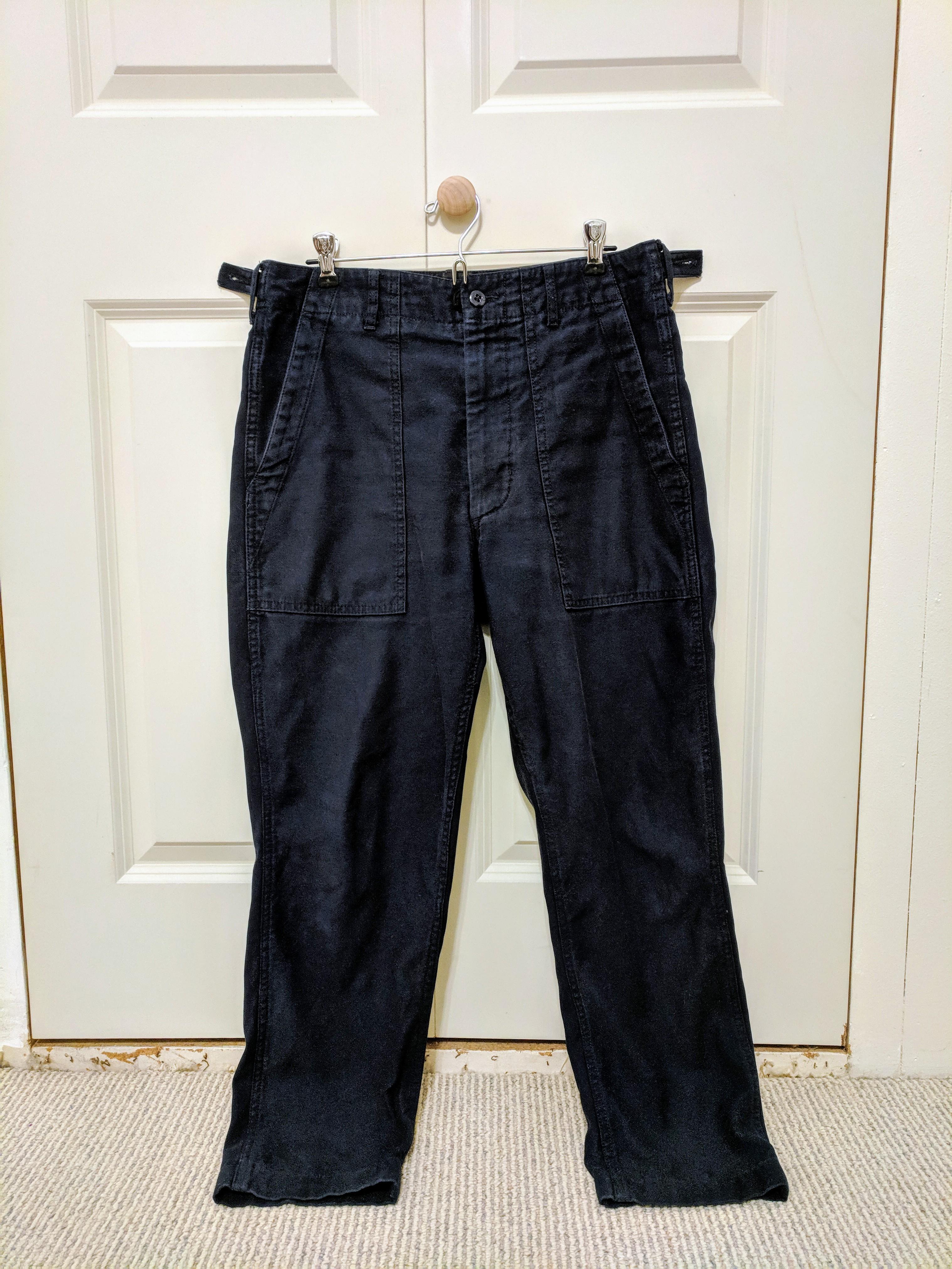 Engineered Garments Navy Blue Fatigue Pant Size 30 - Casual Pants ... 01c5e8415aa