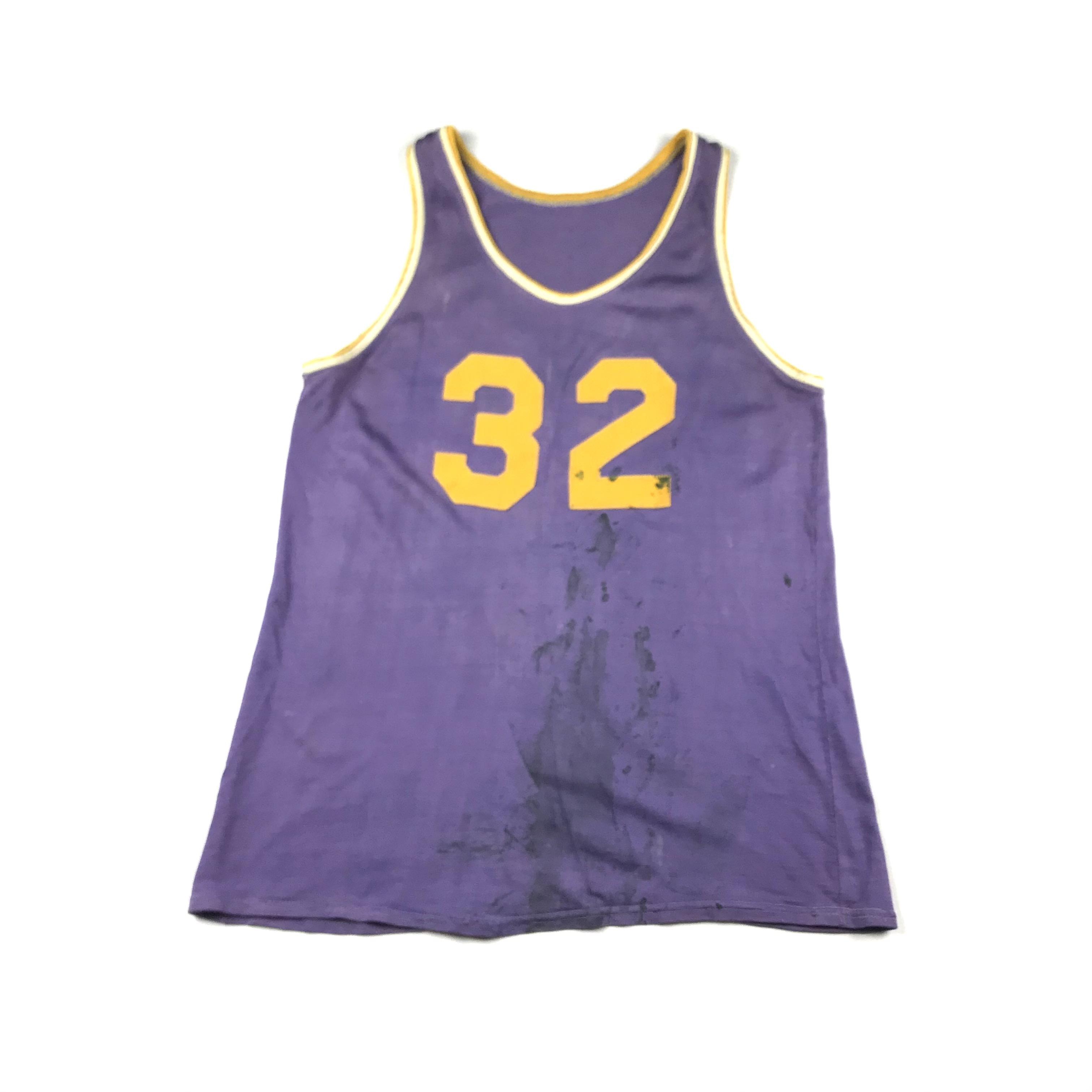 Vintage Vintage 70s/80s Minnesota Lakers #32 Basketball Jersey