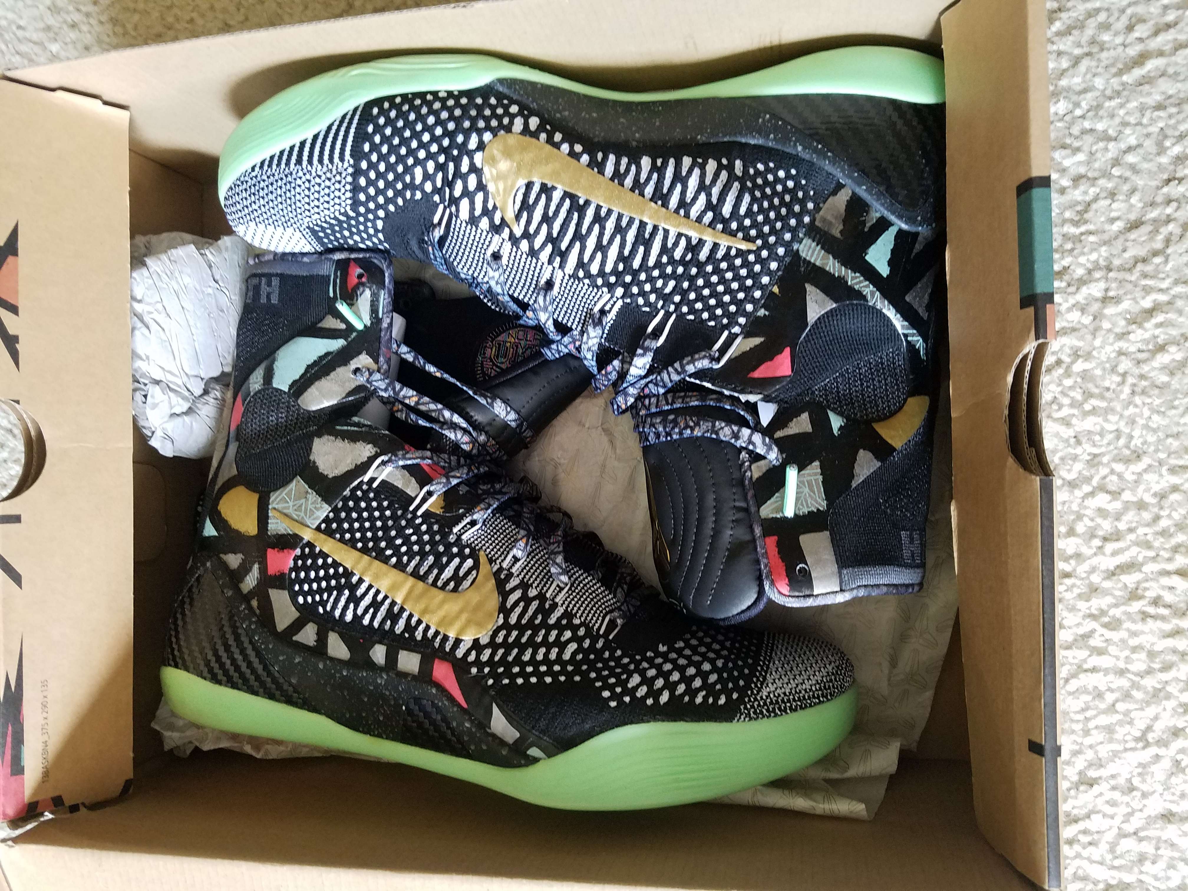 big sale ecb85 f2e0b Nike Kobe 9 Elite All-Star Game  Maestro - Gumbo Pack  Size 11 - Hi-Top  Sneakers for Sale - Grailed