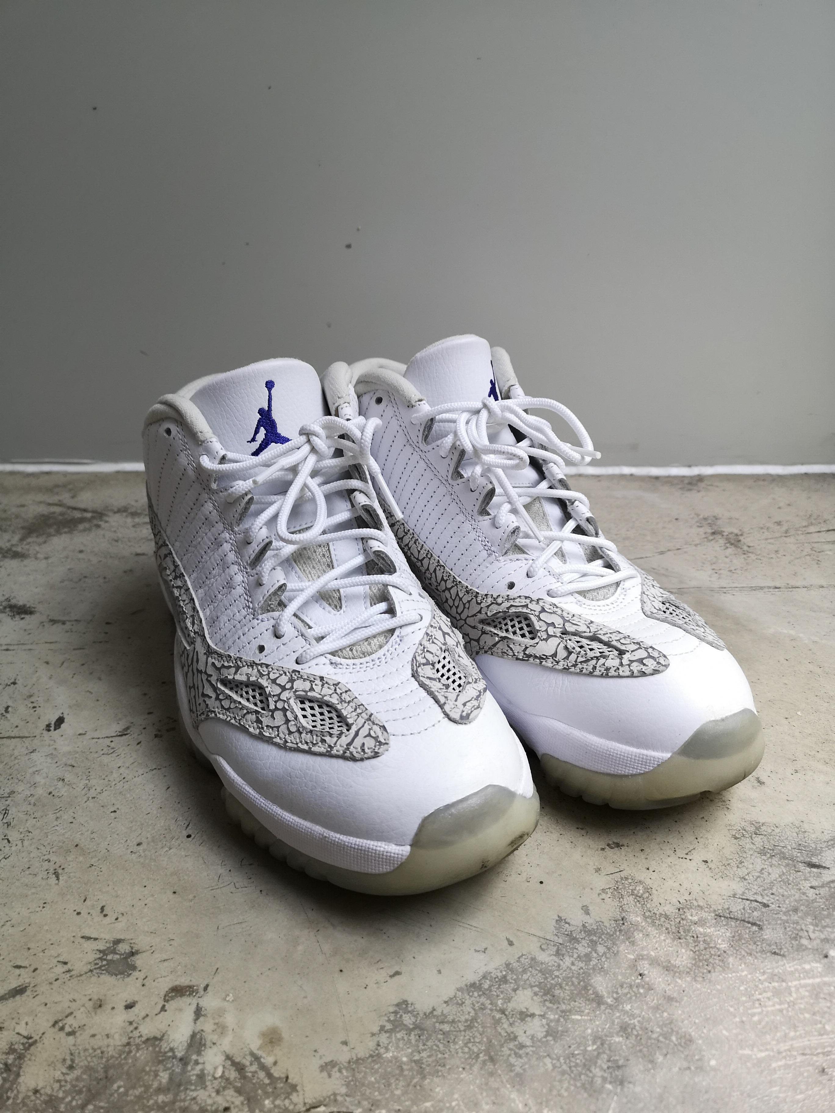 3e94b922578 Nike × Jordan Brand ×. Air Jordan 11 Retro Low IE 'Cobalt' 2015