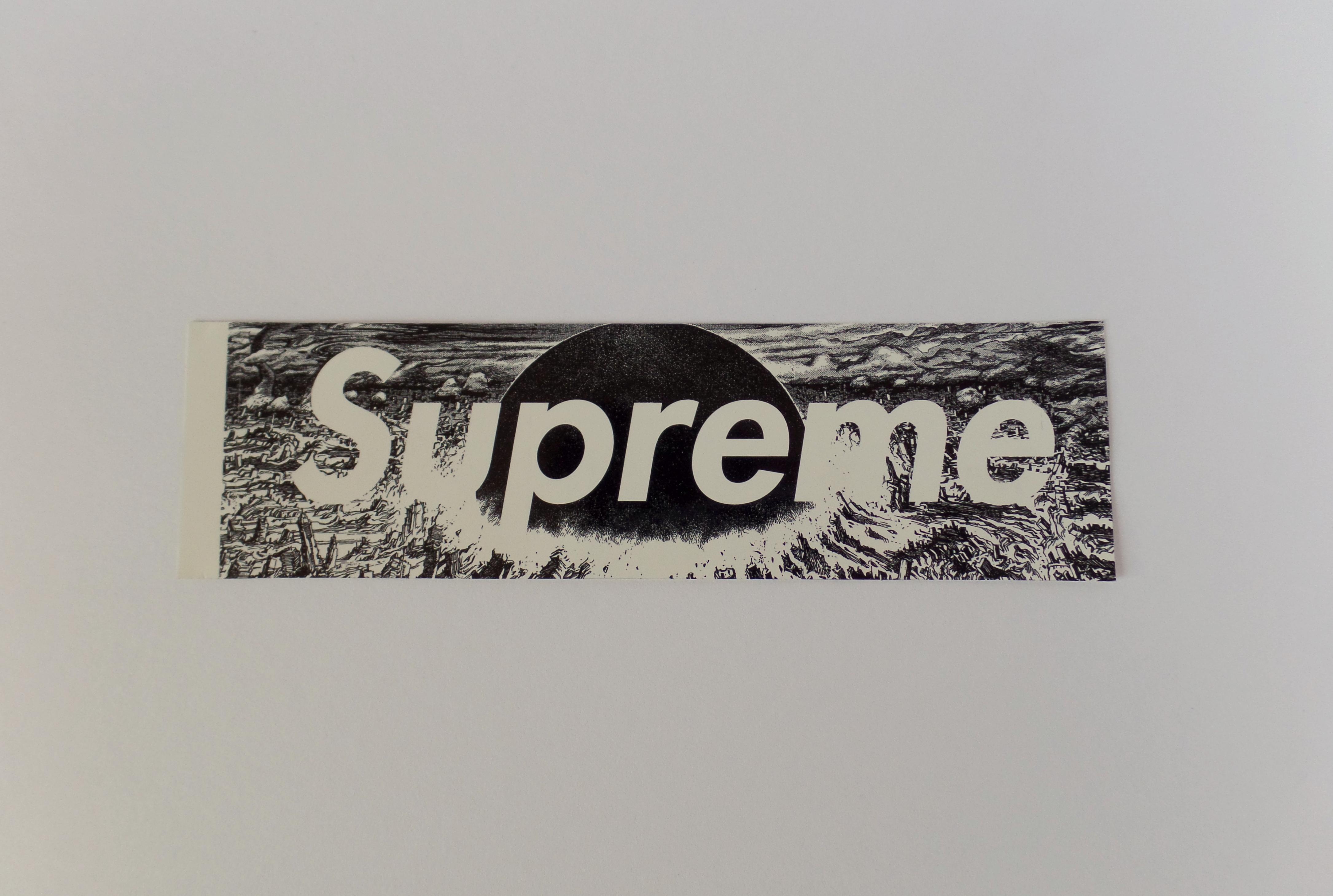 Supreme Supreme X Akira Fw17 Neo Tokyo Explosion Box Logo Bogo Sticker Grailed