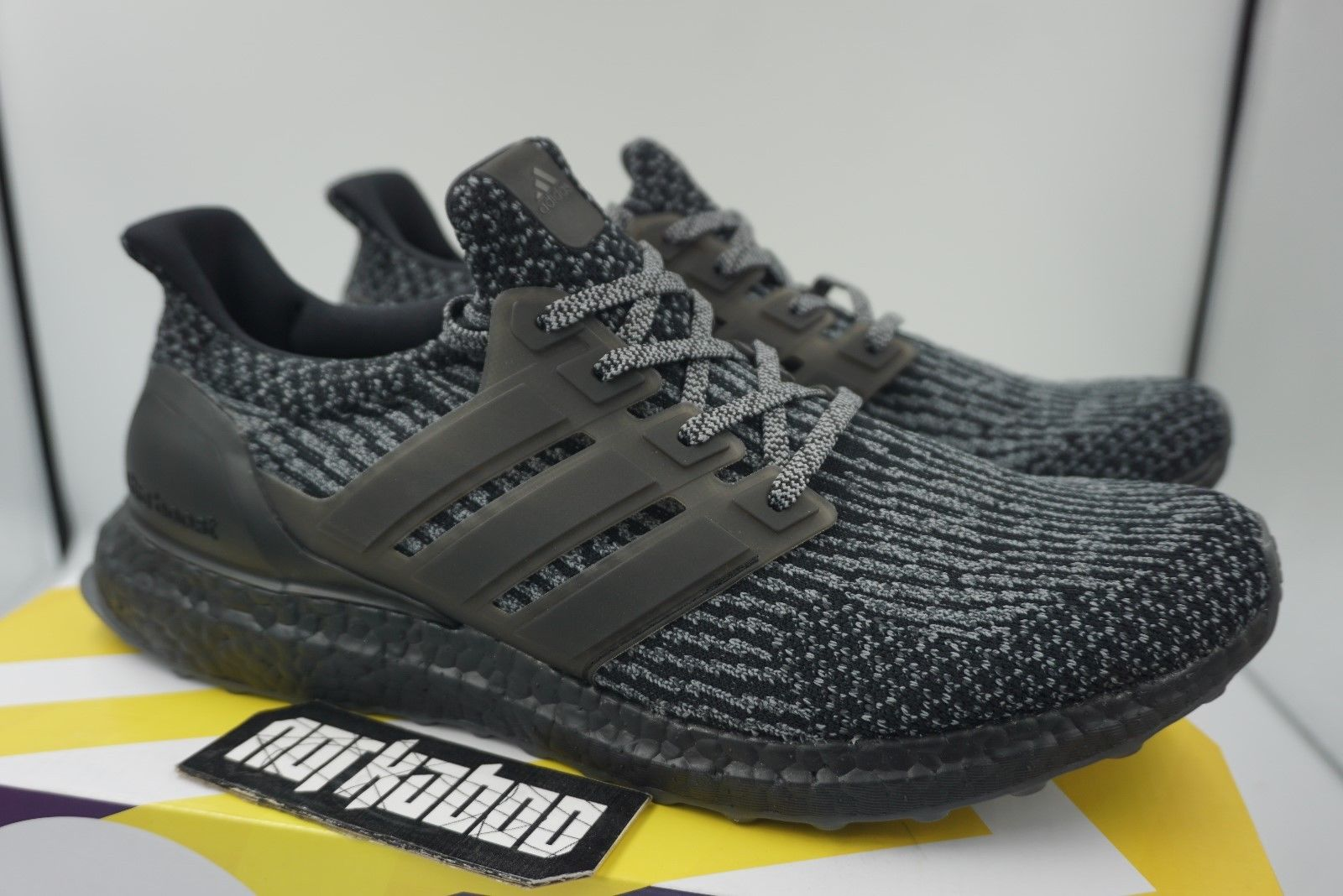 separation shoes 2cfb6 a6206 Adidas Ultra Boost 3.0 Limited Triple Black Silver Grey BA8923