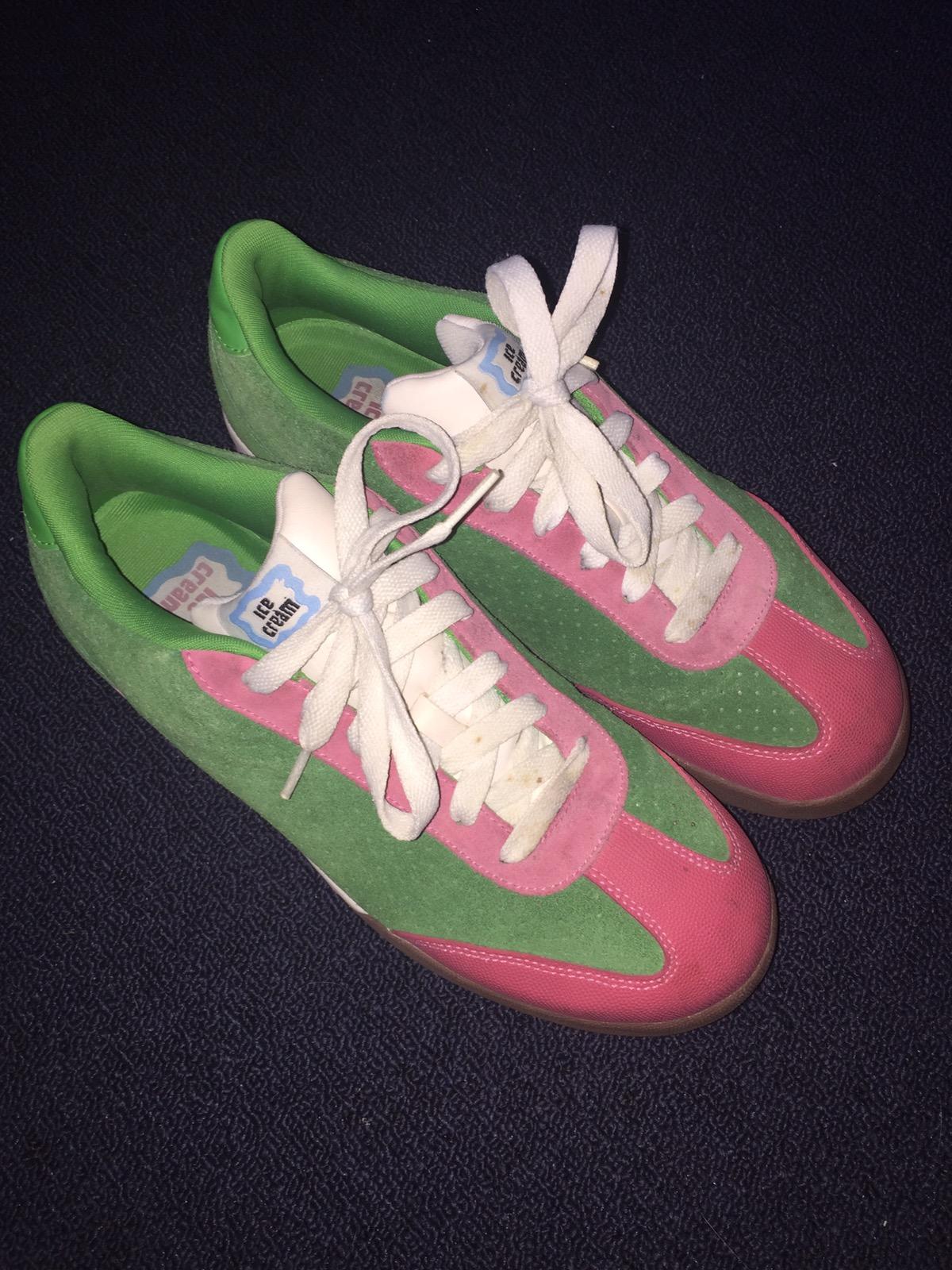 cefaeca8f87d0 Reebok Billionaire Boys Club Icecream Board Flip 1. Reebok Icecream Board  Flip 1 Watermelon Flavor Pink Green