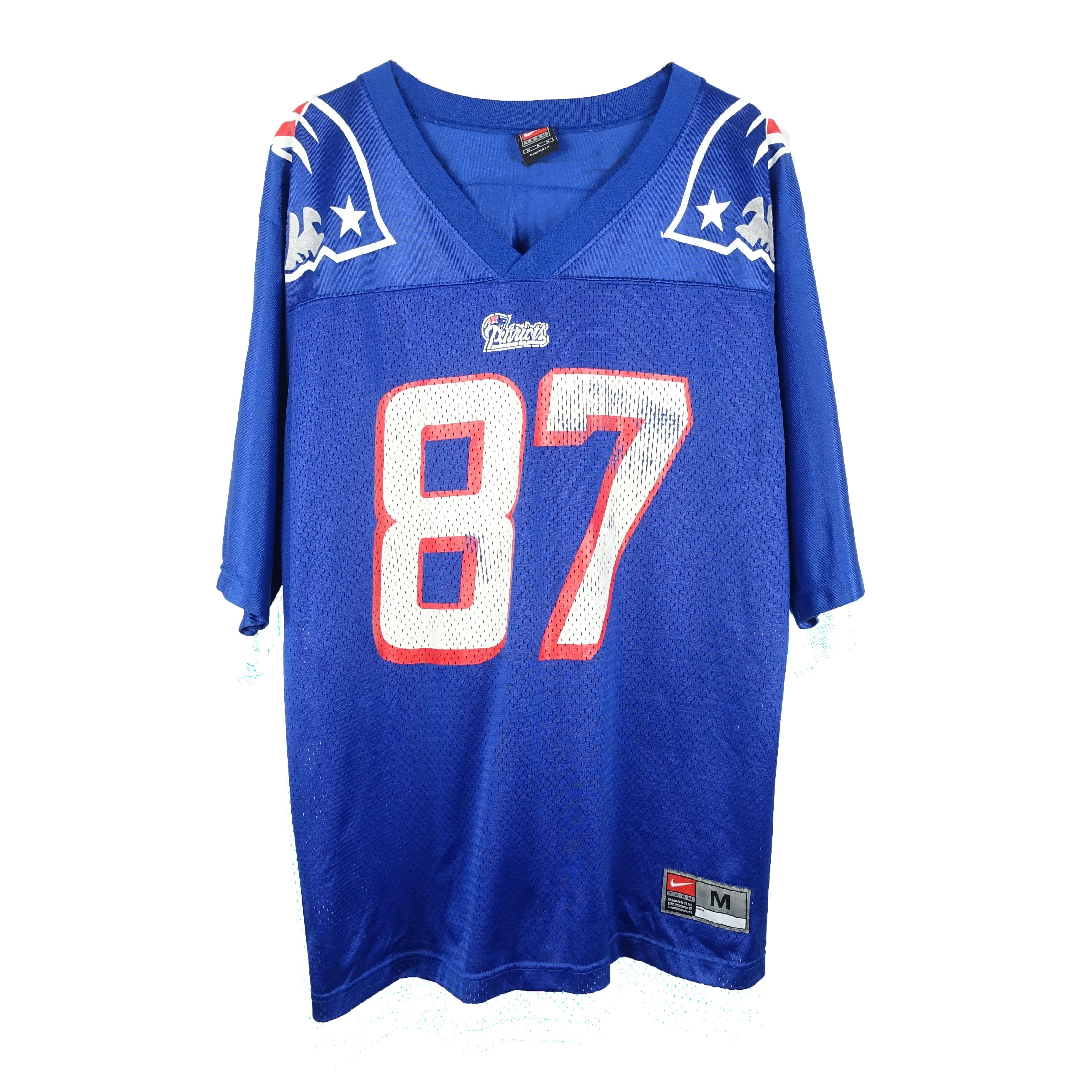 Nike 90s Nike Ben Coates #87 New England Patriots NFL Jersey
