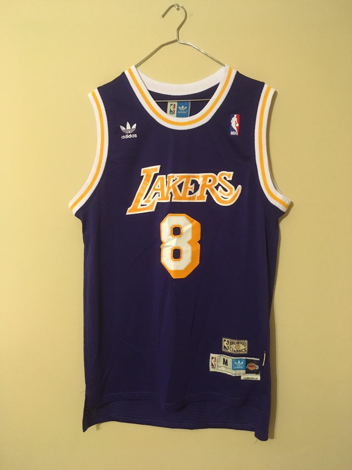 bbc3544c036 Adidas × L.A. Lakers ×. Kobe Bryant Lakers Jersey. Size  US M   EU 48-50   2