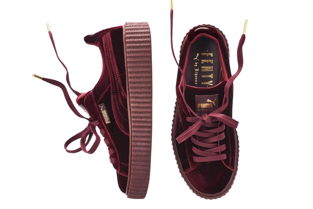 best sneakers c307e 862f3 Fenty Velvet Creepers