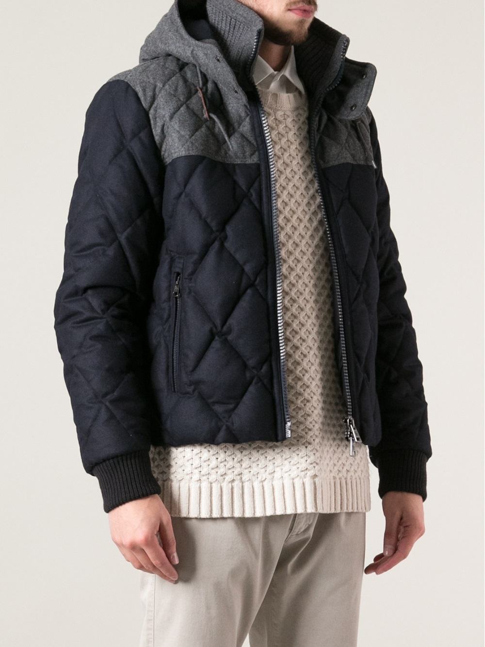 d27f2ee5ac14 Moncler Moncler Diamond Quilted Jacket Size m - Heavy Coats for Sale -  Grailed