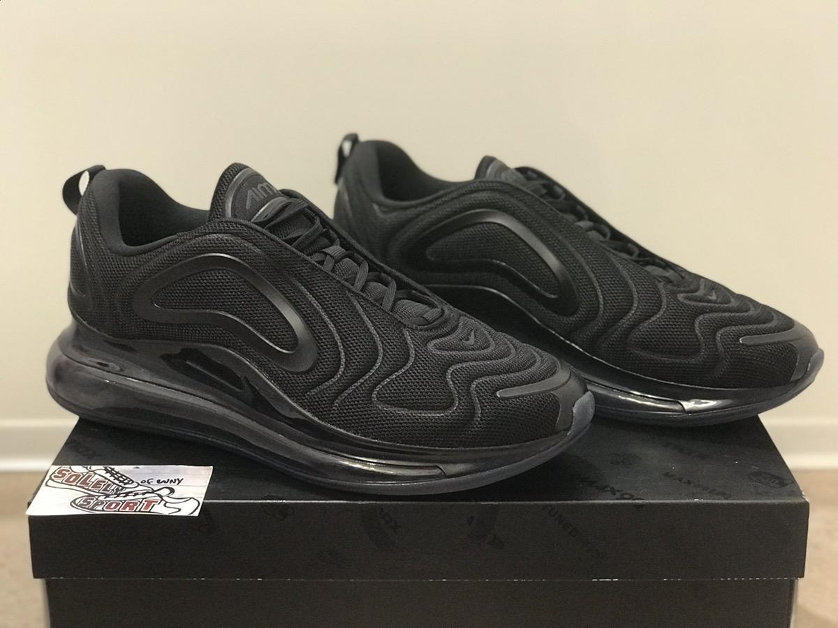 Nike Nike Air Max 720 Triple Black Mesh Mens Grailed