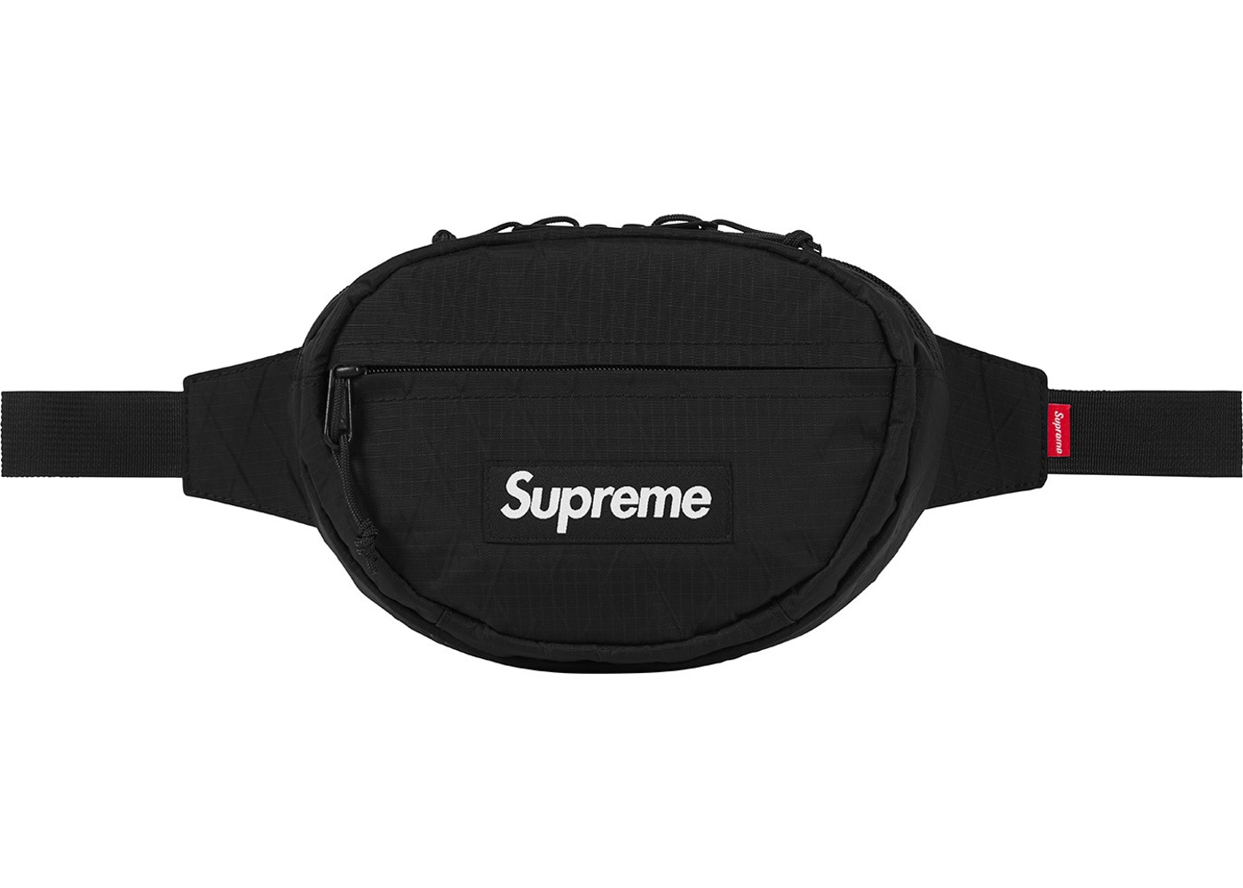 good looking top-rated official hot-selling discount Supreme Waist Bag (FW18) Black