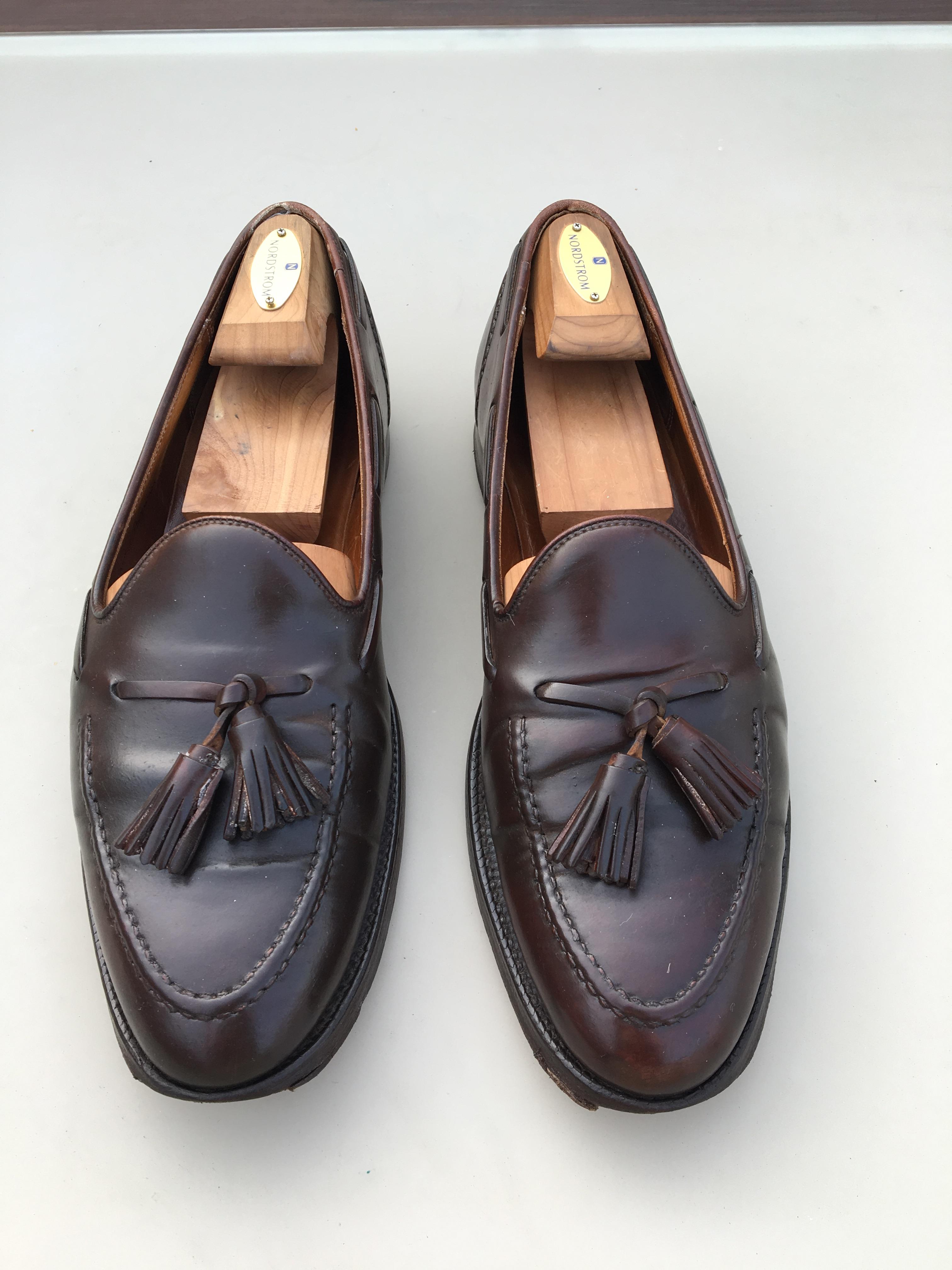 32bbc472560 Ralph Lauren Marlow Shell Cordovan Tassel Loafer