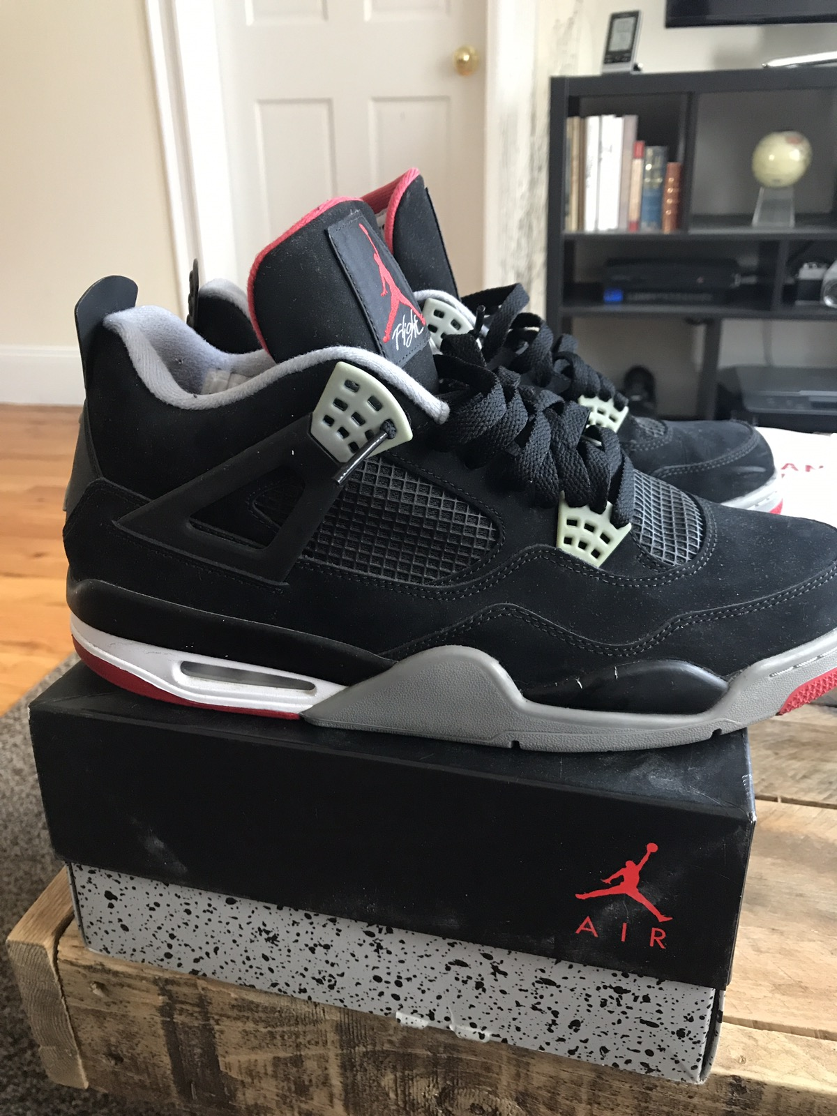 1959c0db54a9 Jordan Brand Bred 4s Size 12 - Low-Top Sneakers for Sale - Grailed