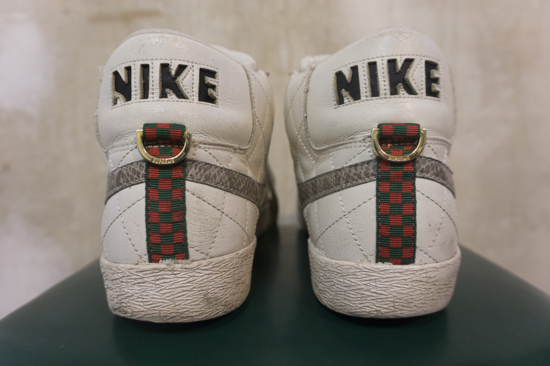 official photos 7602f bc89c Supreme × Nike ×. Supreme Nike Blazer White Snakeskin