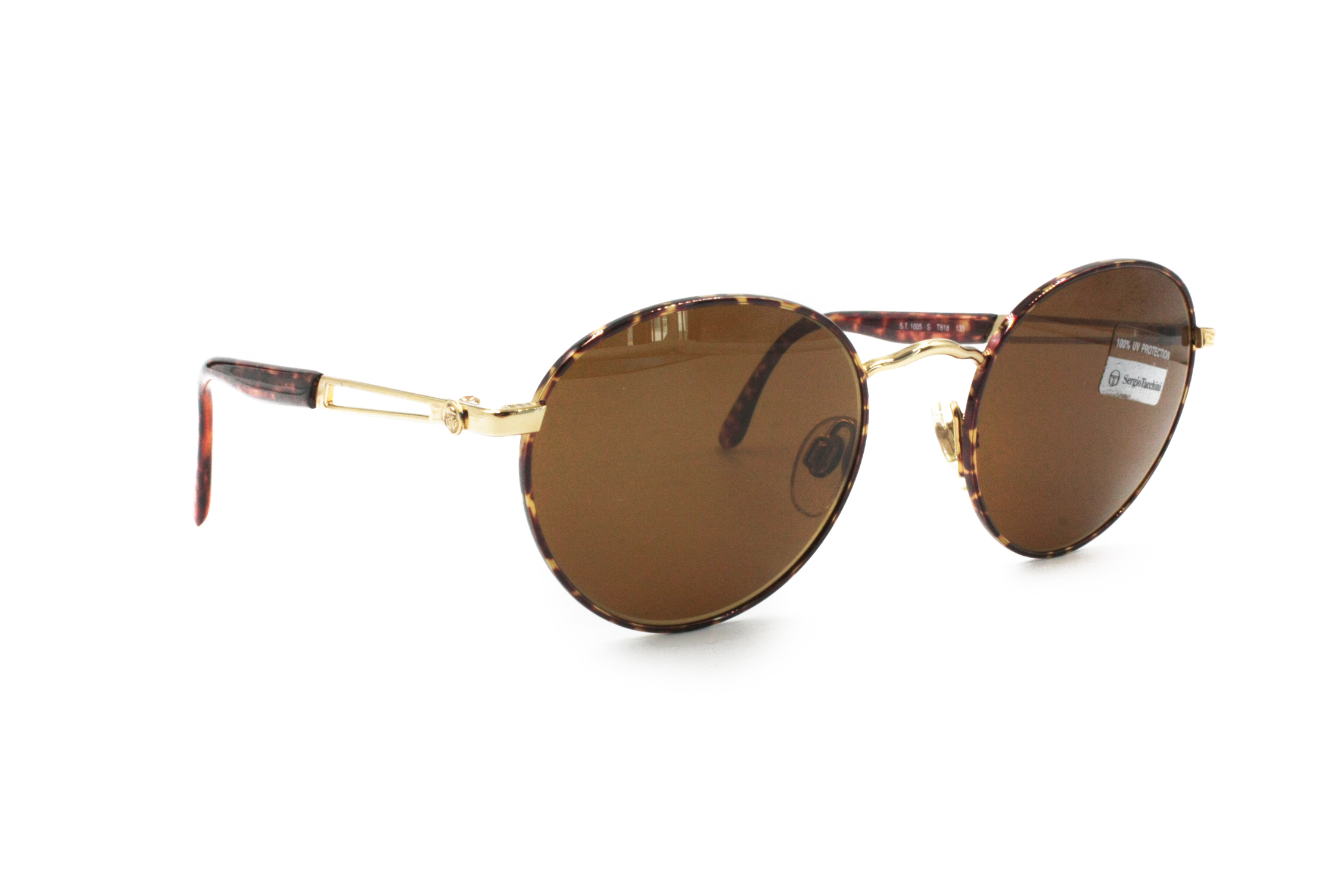 f3ae7c1c57 Sergio Tacchini Vintage SERGIO TACHINI sunglasses golden   brown dappled     Vintage Italian designer sunglasses 80s    New Old stock eyewear Size one  size ...