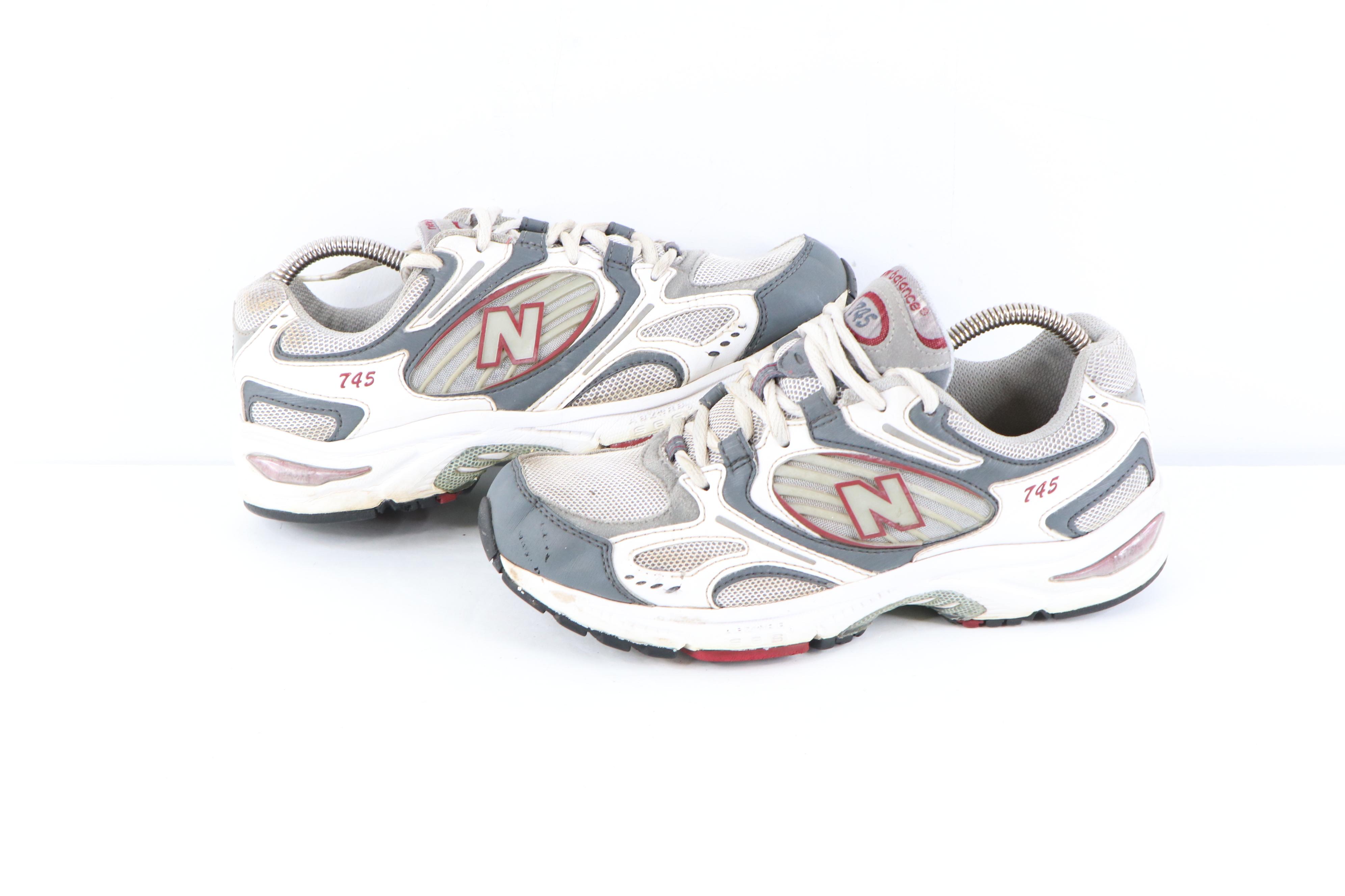 New Balance Vintage New Balance 745 Distressed Running Dad Shoes USA