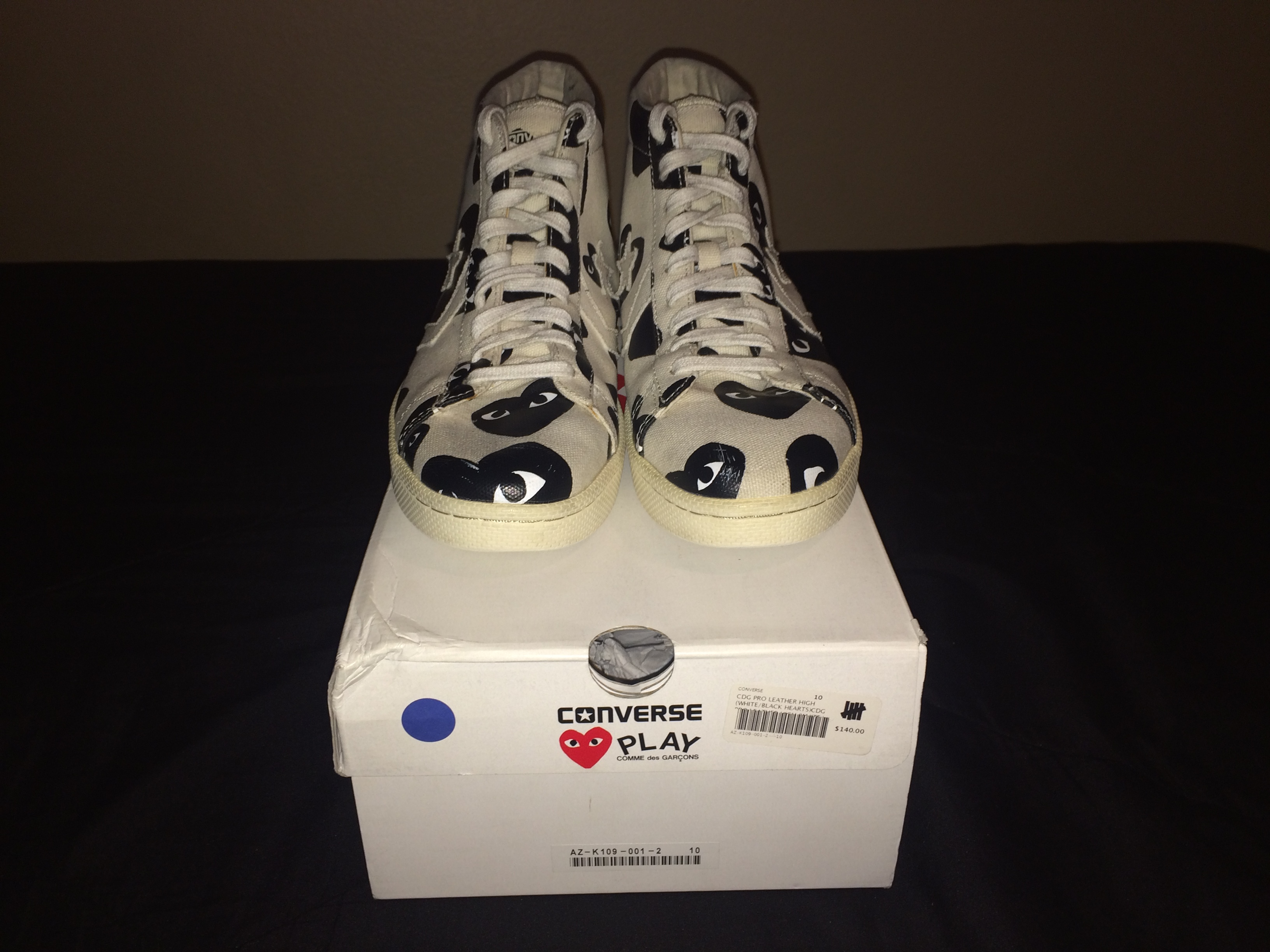 6ad005e01d21 Comme Des Garcons Play ×. CDG Pro Leather High