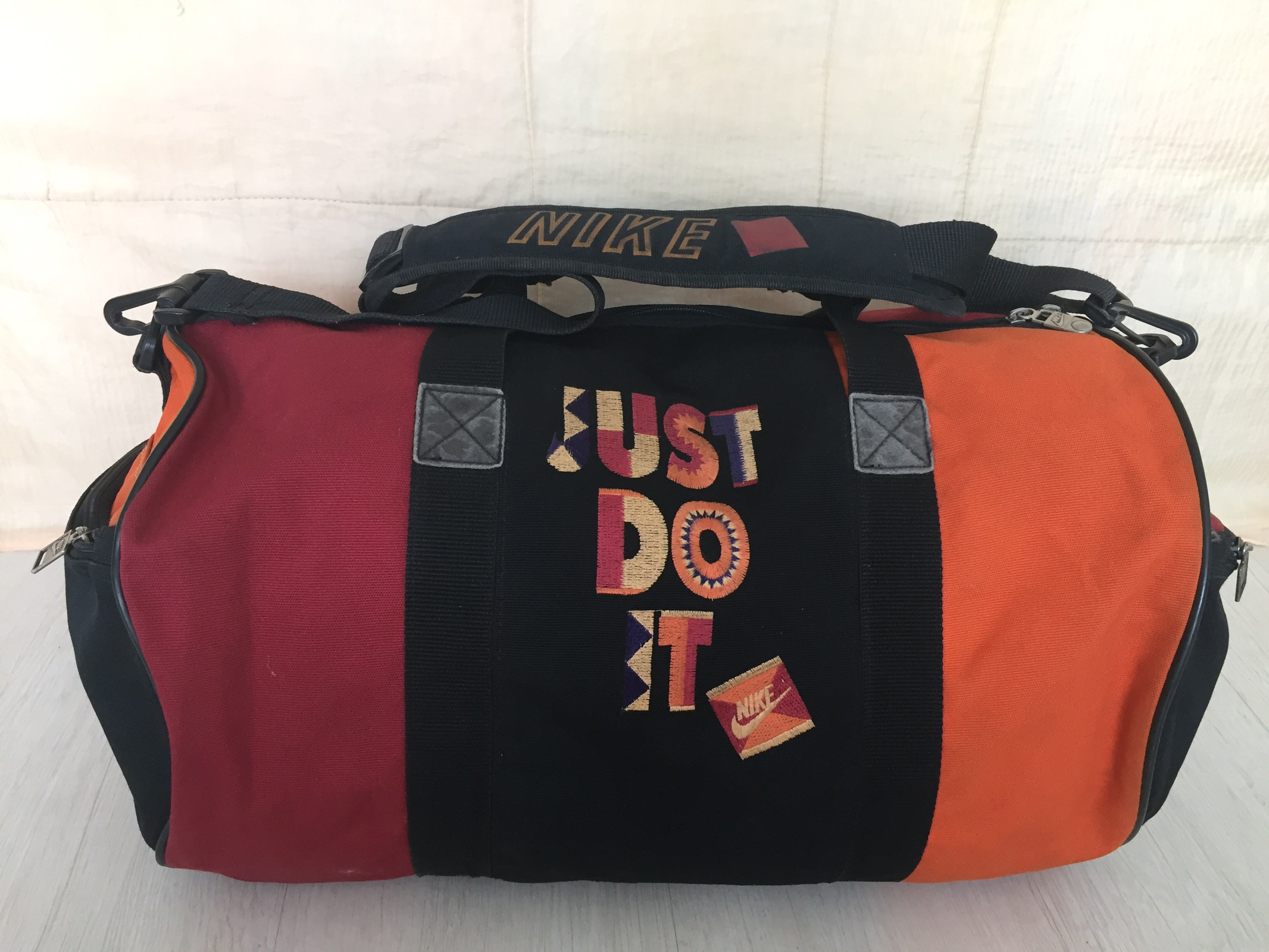 pago bloquear meteorito  Nike Vintage 90s Nike Jordan Just Do It Gym Bag | Grailed