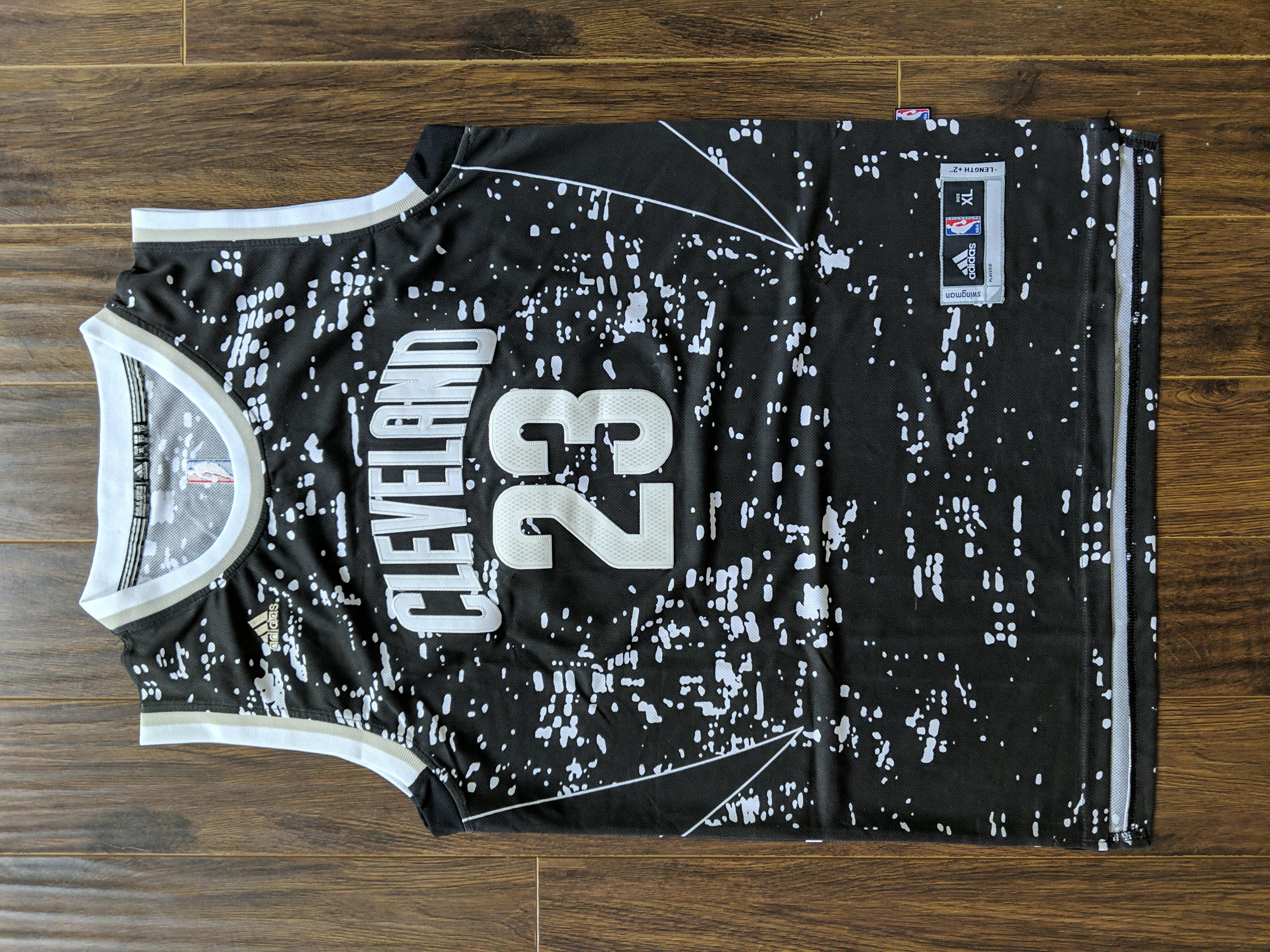 Adidas LeBron James Swingman Camo Jersey