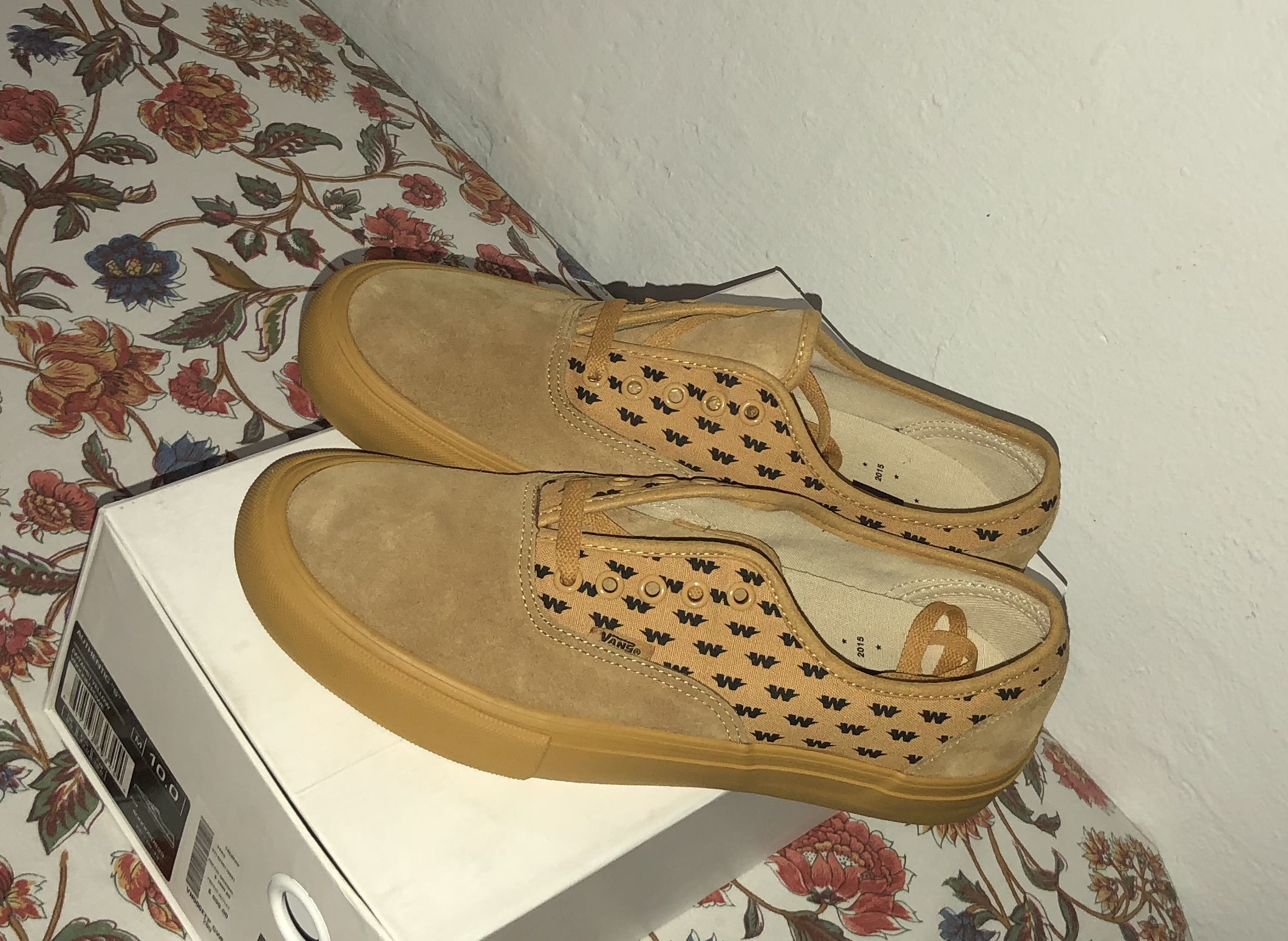 1ac6ff7aae1f Vans Vans Syndicate x WTAPS Authentic S Yellow Black Size 10 - Low-Top  Sneakers for Sale - Grailed